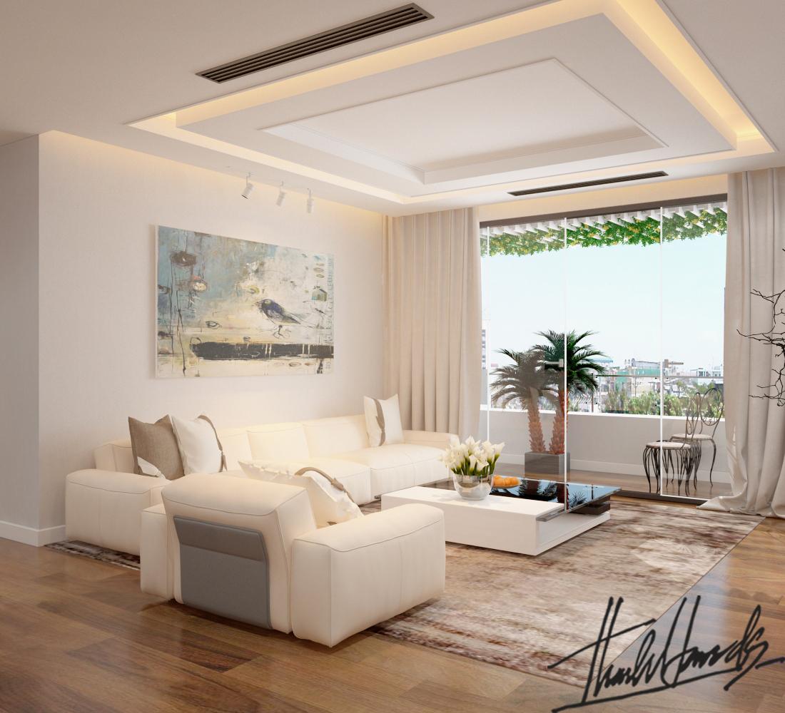 thiết kế nội thất chung cư tại Hà Nội Chung Cư Diamond Flower 3 1568274024