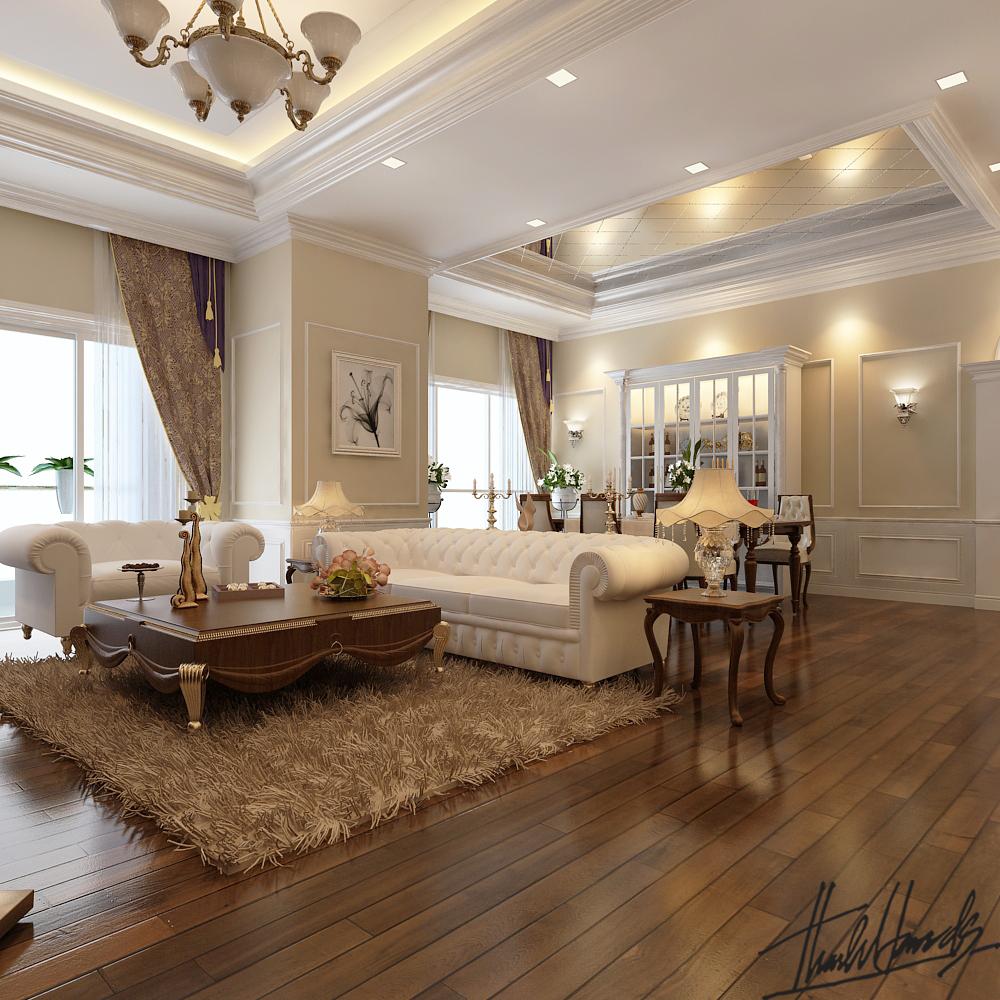 thiết kế nội thất chung cư tại Hà Nội chung cư roya city 4 1568274241