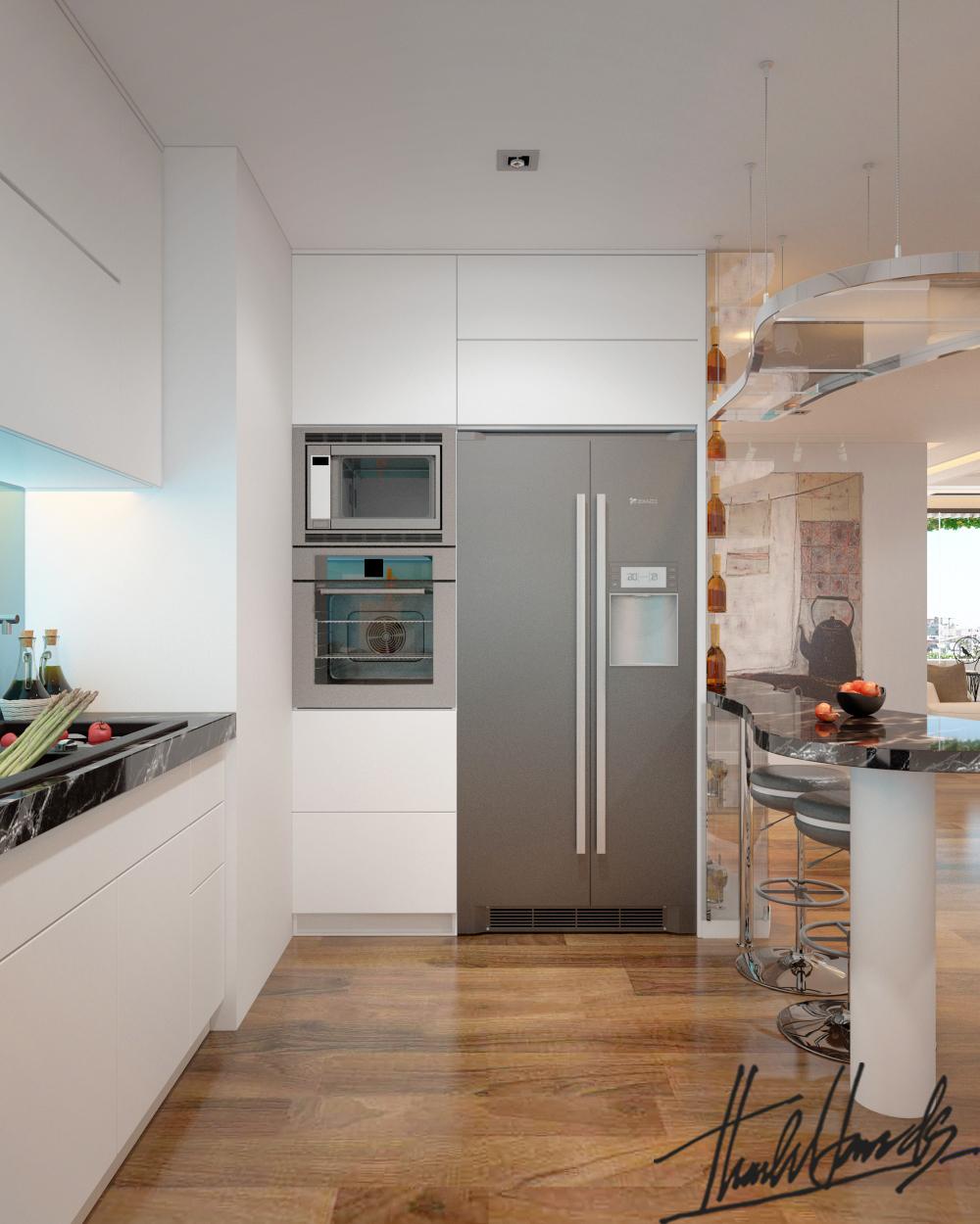 thiết kế nội thất chung cư tại Hà Nội Chung Cư Diamond Flower 5 1568274025