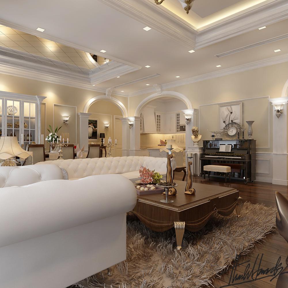 thiết kế nội thất chung cư tại Hà Nội chung cư roya city 5 1568274240