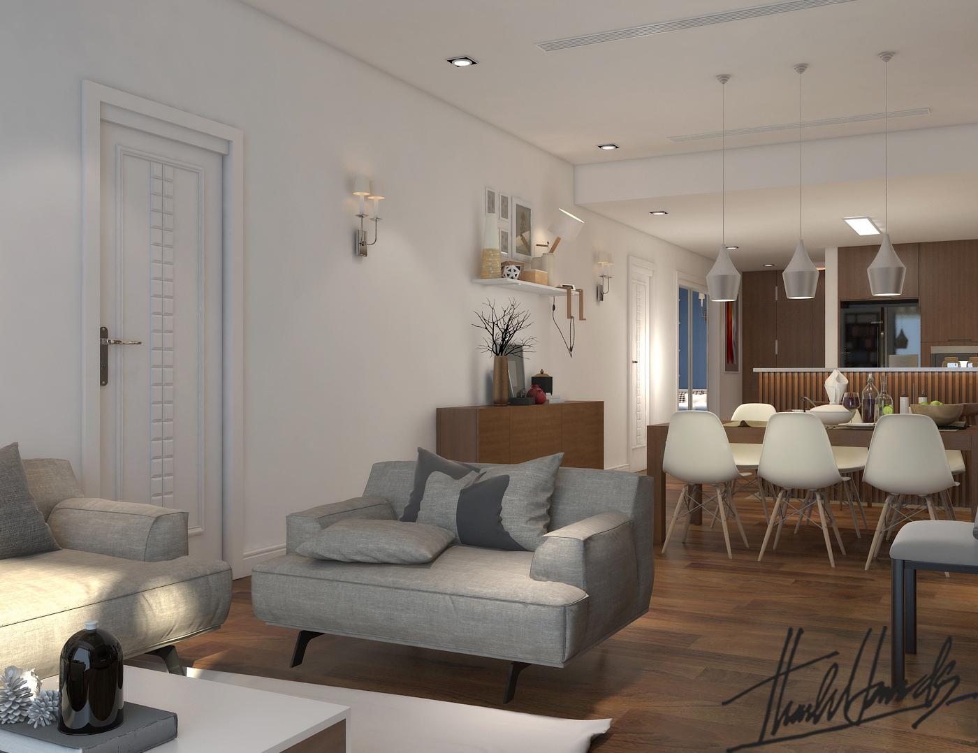 thiết kế nội thất chung cư tại Hà Nội chung cư roya city 6 1568274323