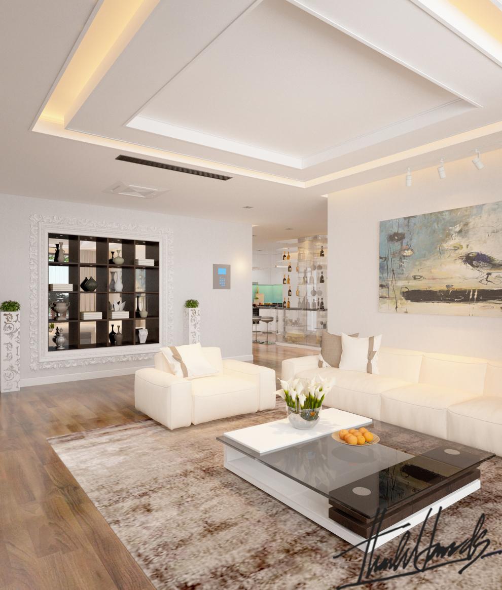 thiết kế nội thất chung cư tại Hà Nội Chung Cư Diamond Flower 7 1568274026