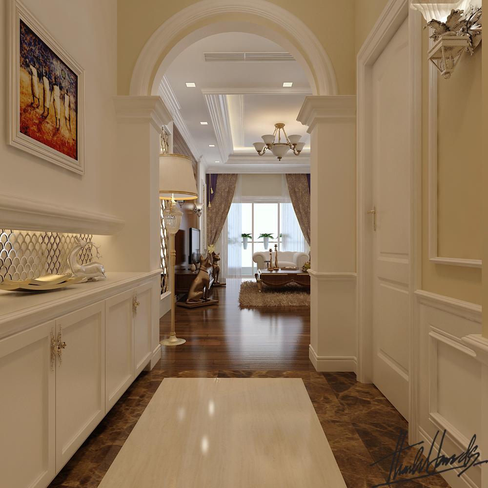 thiết kế nội thất chung cư tại Hà Nội chung cư roya city 7 1568274242