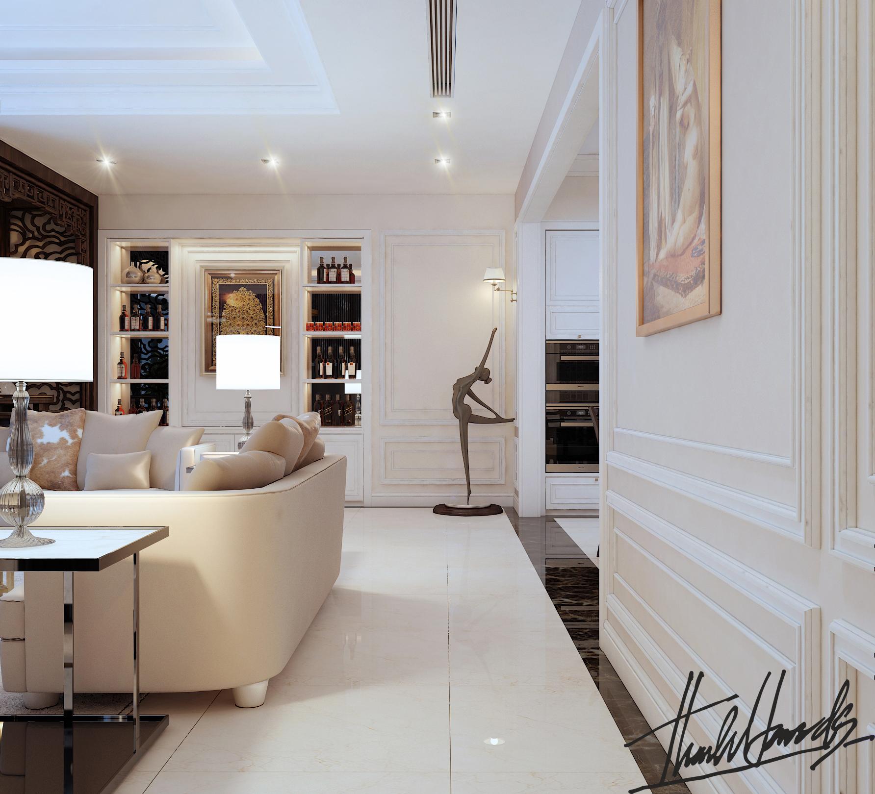 thiết kế nội thất chung cư tại Hà Nội chung cu royacity 9 1568191824