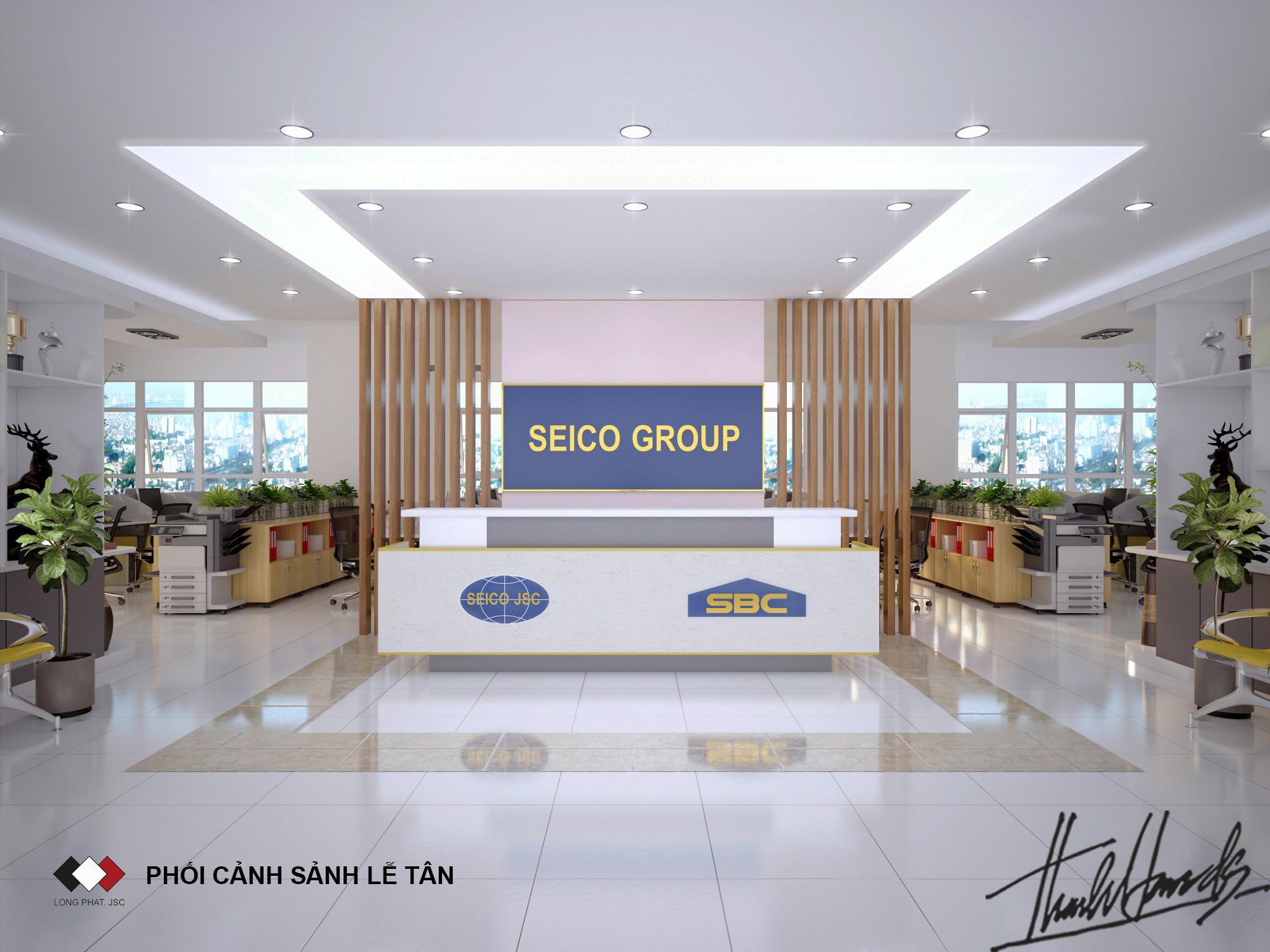 thiết kế nội thất Văn Phòng tại Hà Nội Văn phong SEIKO 19 1568274677