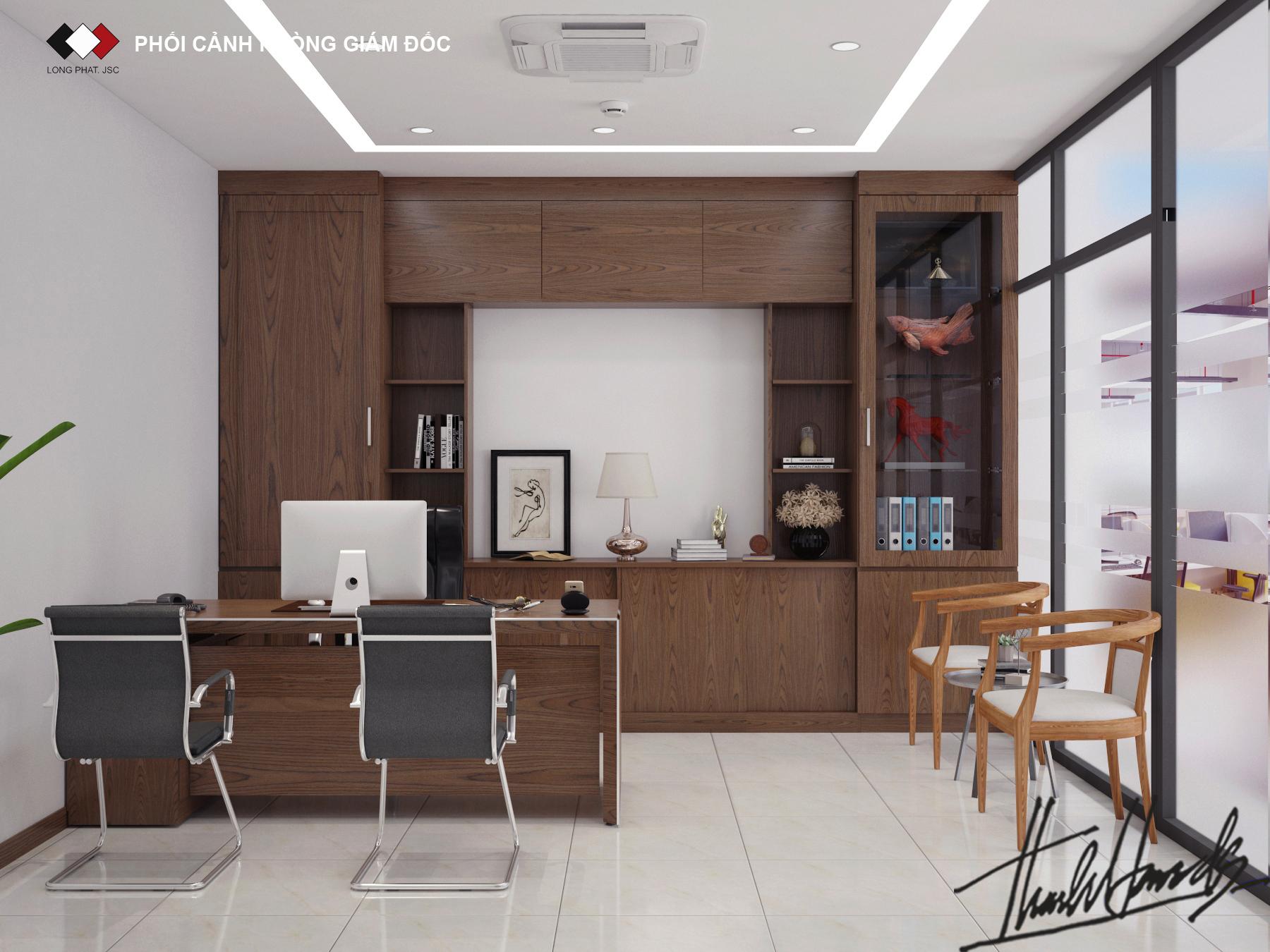 thiết kế nội thất Văn Phòng tại Hà Nội Văn phong SEIKO 5 1568274662