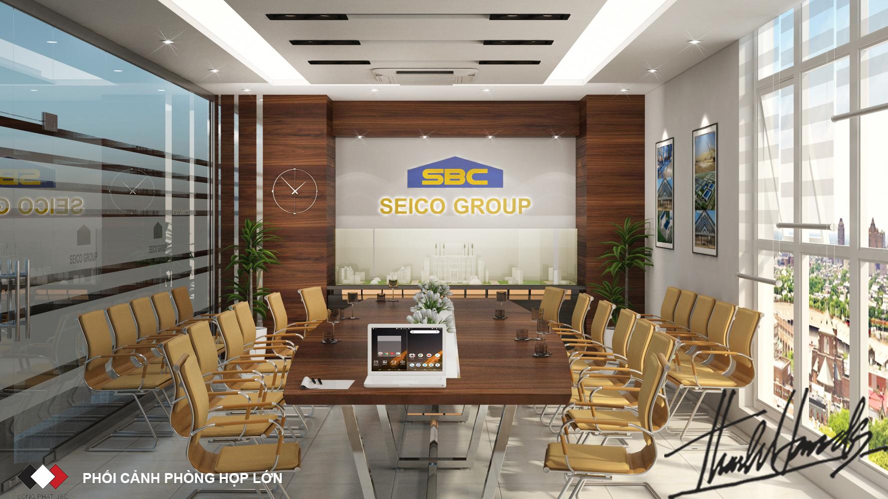 thiết kế nội thất Văn Phòng tại Hà Nội Văn phong SEIKO 8 1568274666