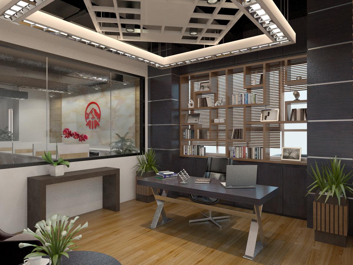 thiết kế nội thất Văn Phòng tại Hà Tĩnh Văn phòng AIA - Hà Tĩnh 10 1568277195