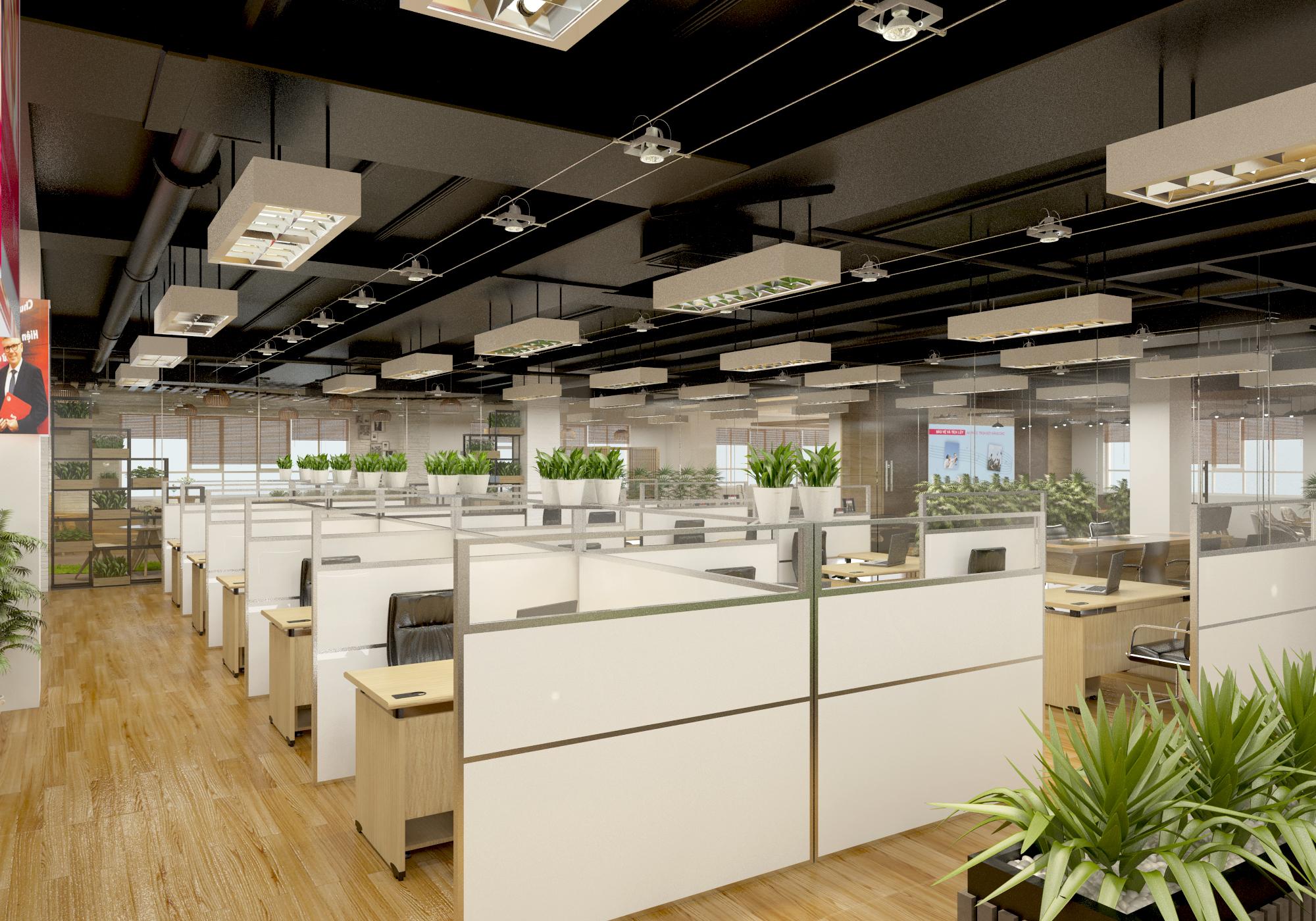 thiết kế nội thất Văn Phòng tại Hà Tĩnh Văn phòng AIA - Hà Tĩnh 1 1568277191