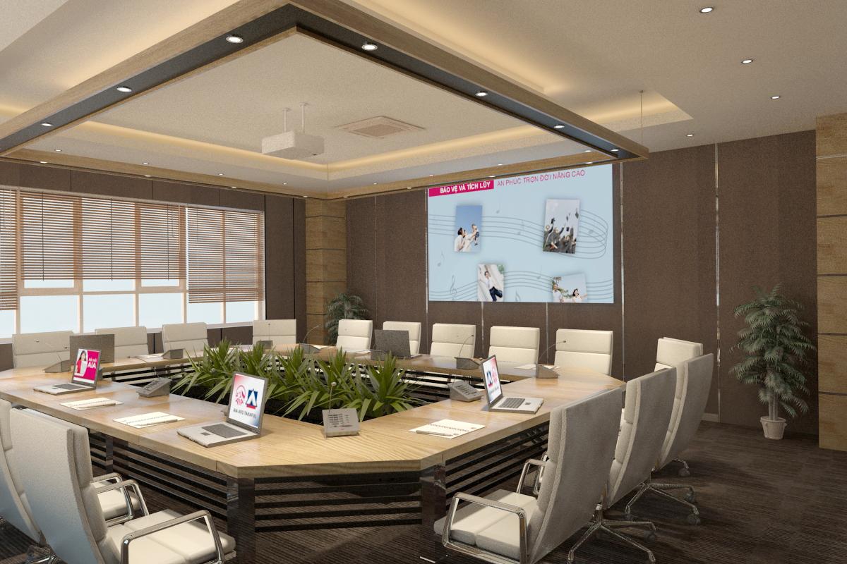 thiết kế nội thất Văn Phòng tại Hà Tĩnh Văn phòng AIA - Hà Tĩnh 15 1568277195