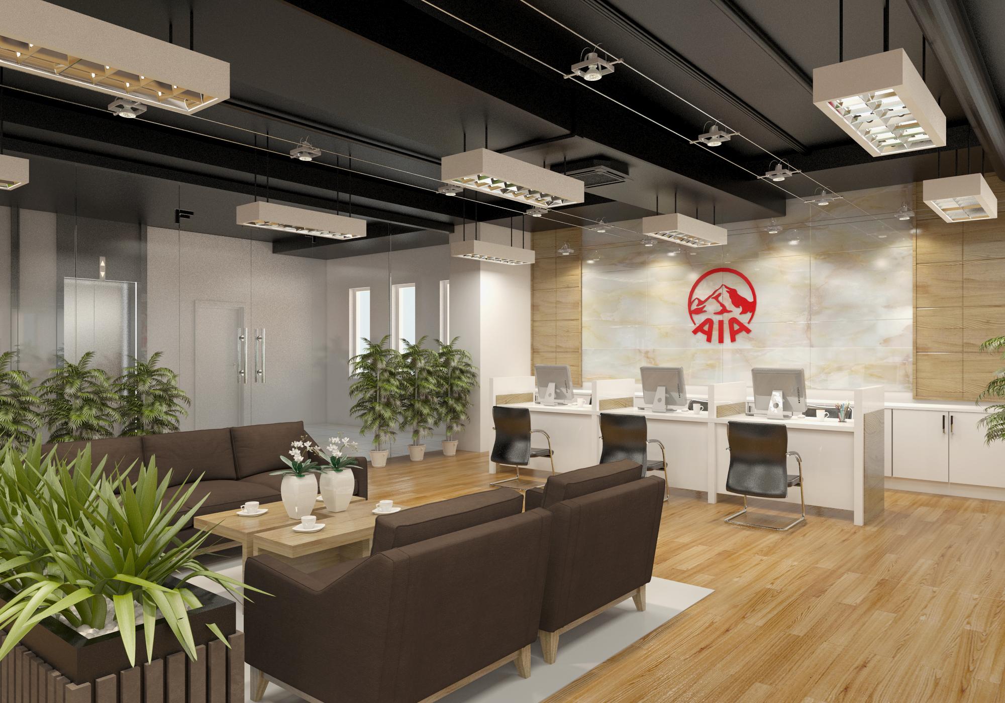 thiết kế nội thất Văn Phòng tại Hà Tĩnh Văn phòng AIA - Hà Tĩnh 2 1568277191