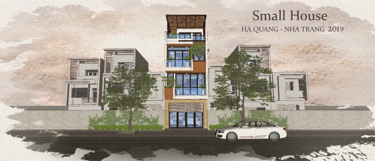 Thiết kế Nhà Mặt Phố tại Khánh Hòa SMALL HOUSE 1580877025 0