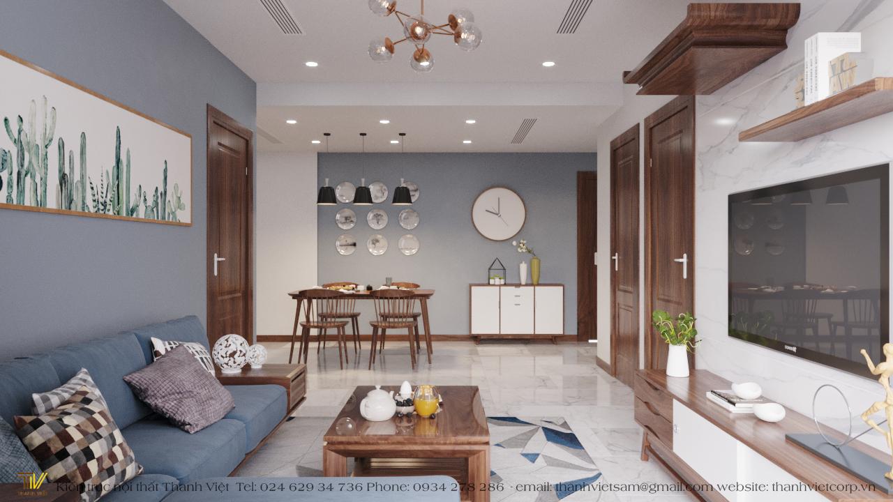 thiết kế nội thất chung cư tại Hà Nội Season Avanue 6 1560248216