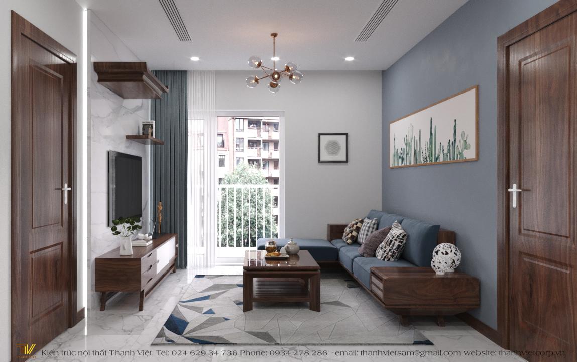thiết kế nội thất chung cư tại Hà Nội Season Avanue 7 1560248216