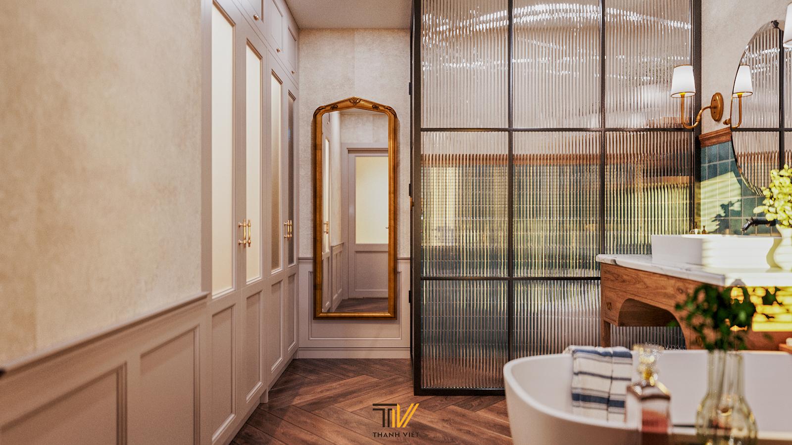 Thiết kế nội thất Chung Cư tại Hà Nội Vintage Farmhouse - Golden Westlake 1626853867 11