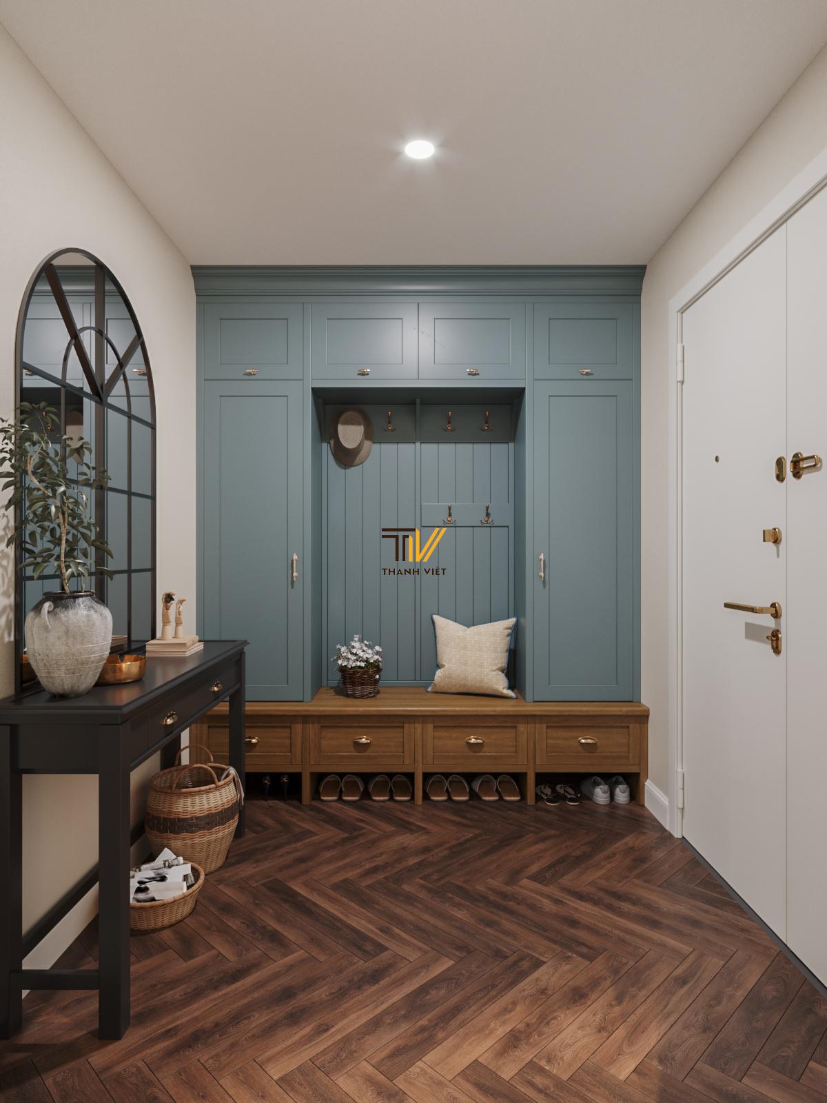 Thiết kế nội thất Chung Cư tại Hà Nội Vintage Farmhouse - Golden Westlake 1626853869 5