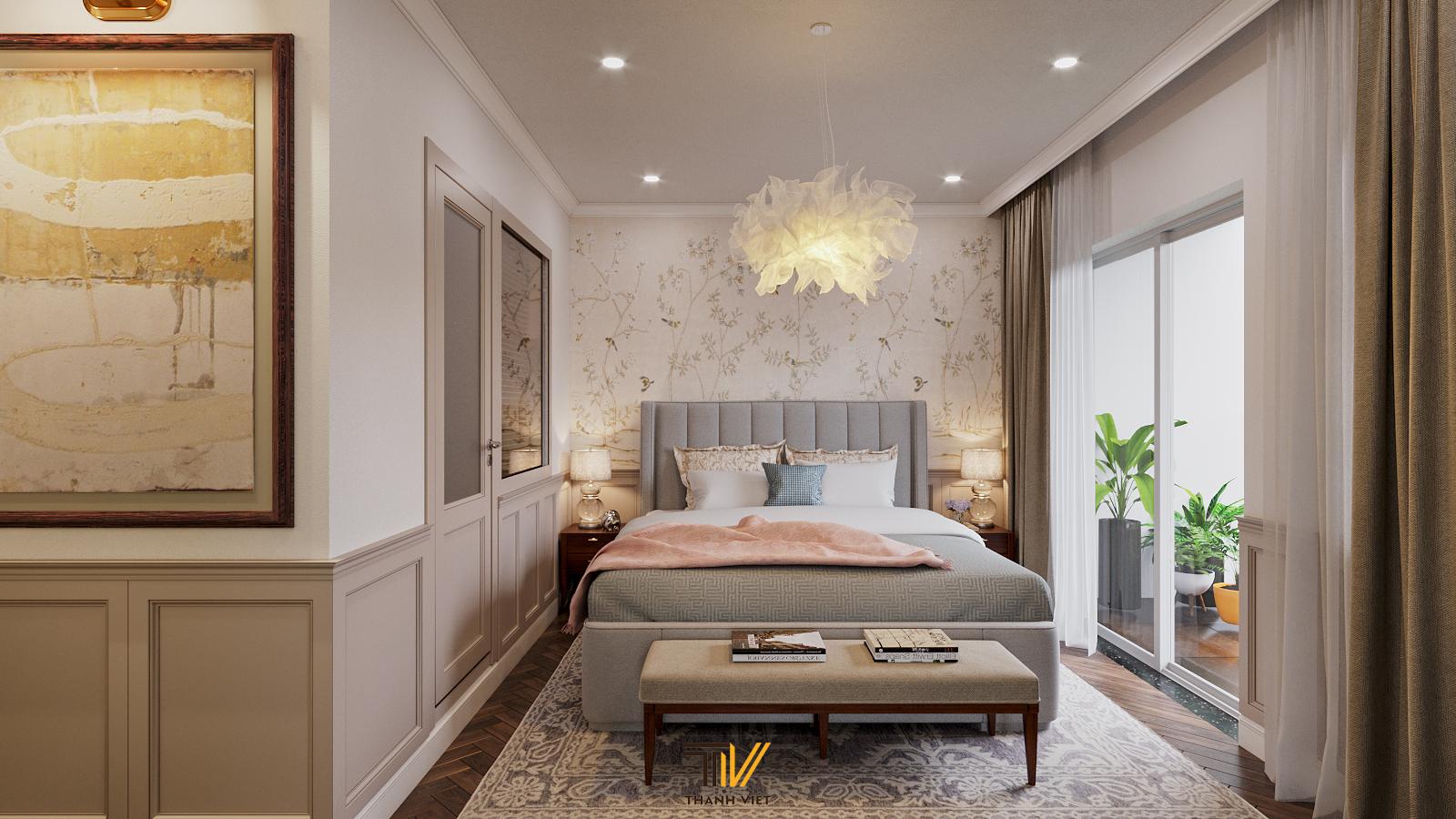Thiết kế nội thất Chung Cư tại Hà Nội Vintage Farmhouse - Golden Westlake 1626853869 6