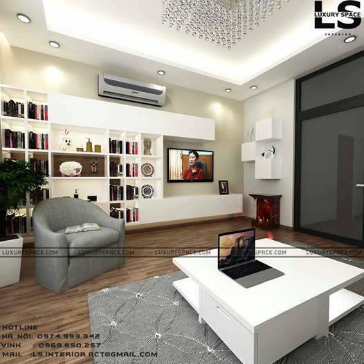 thiết kế Nhà Mặt Phố 4 tầng tại Quảng Ninh  Thiết Kế Nhà Ống hong cách Tân Cổ Điển 3 1547492171