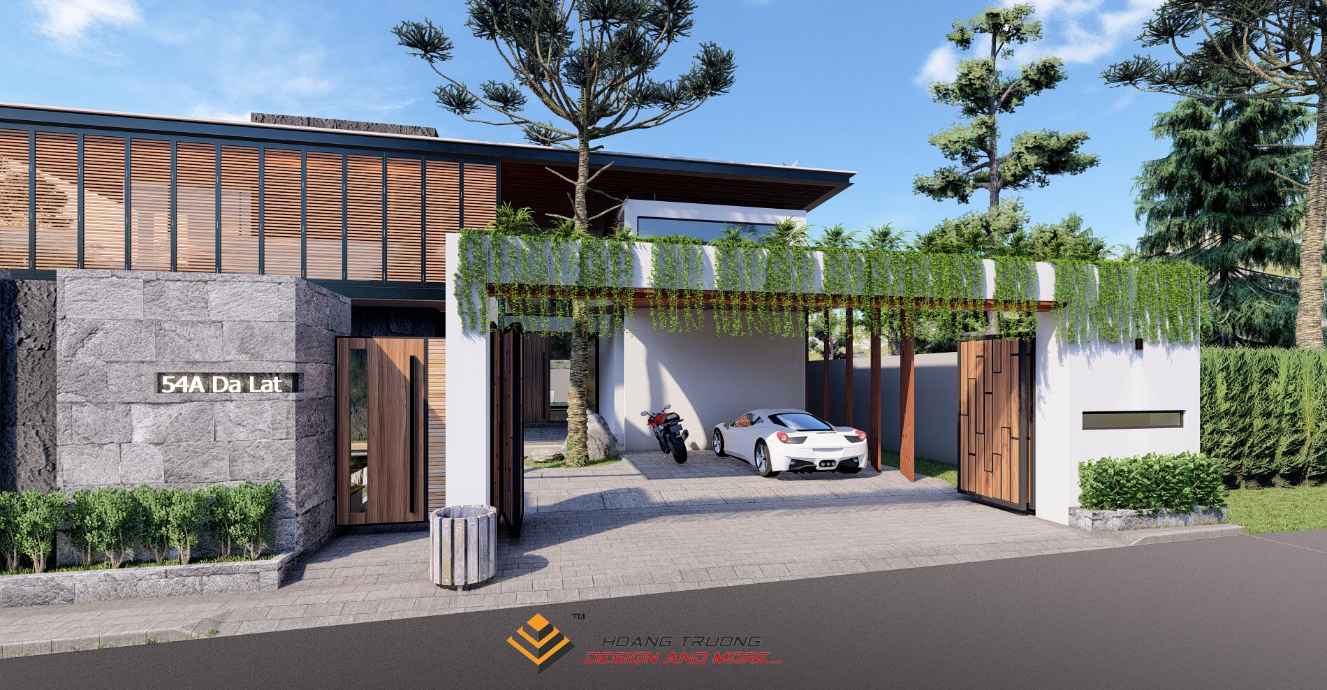Thiết kế nội thất Biệt Thự tại Lâm Đồng Biệt thự Đà Lạt 1574782280 1