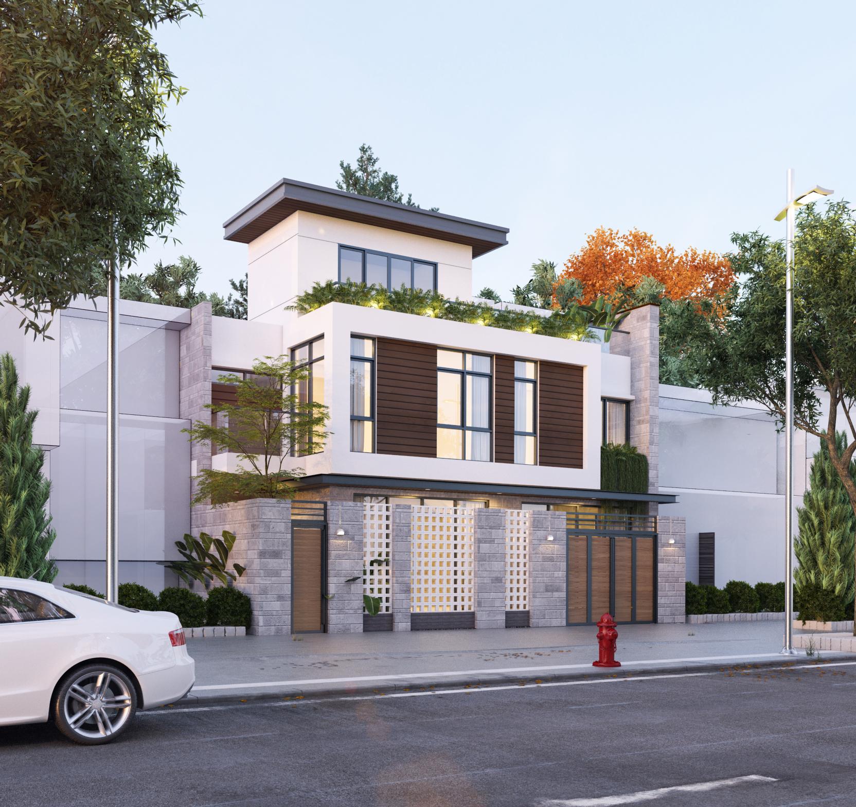 thiết kế Nhà tại Hồ Chí Minh Ms. Thảo House 1 1562574463