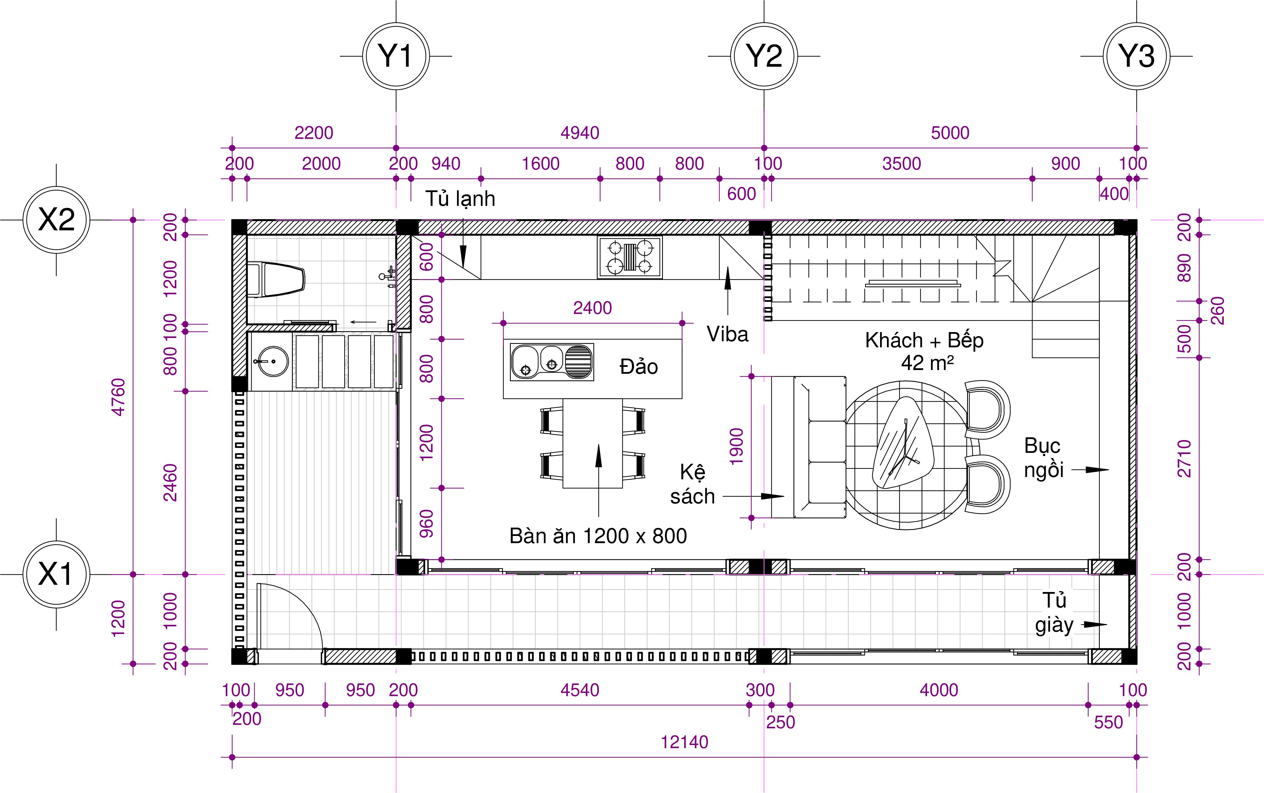 thiết kế Nhà tại Hồ Chí Minh Ms. Thảo House 2 1562574465