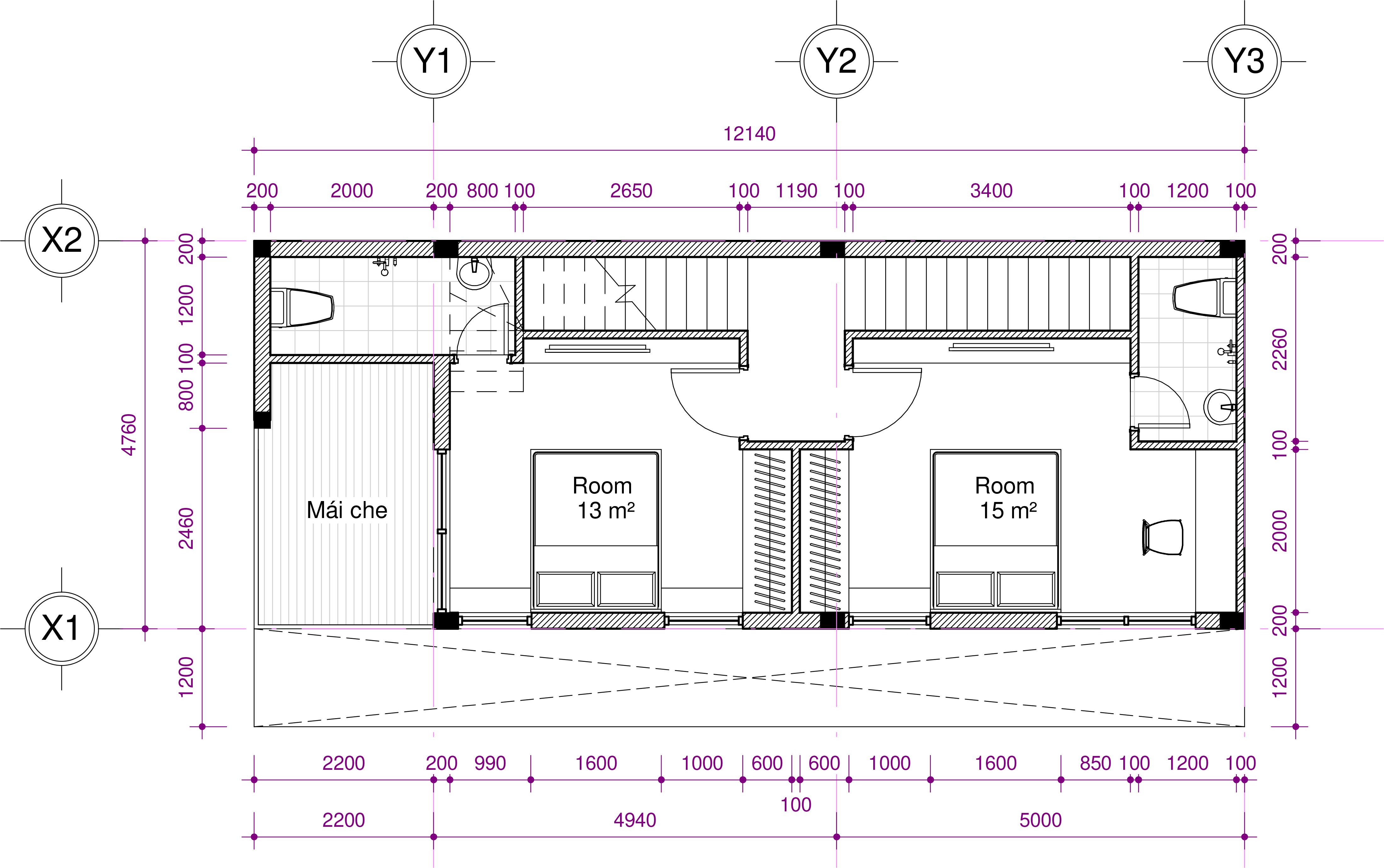 thiết kế Nhà tại Hồ Chí Minh Ms. Thảo House 3 1562574466
