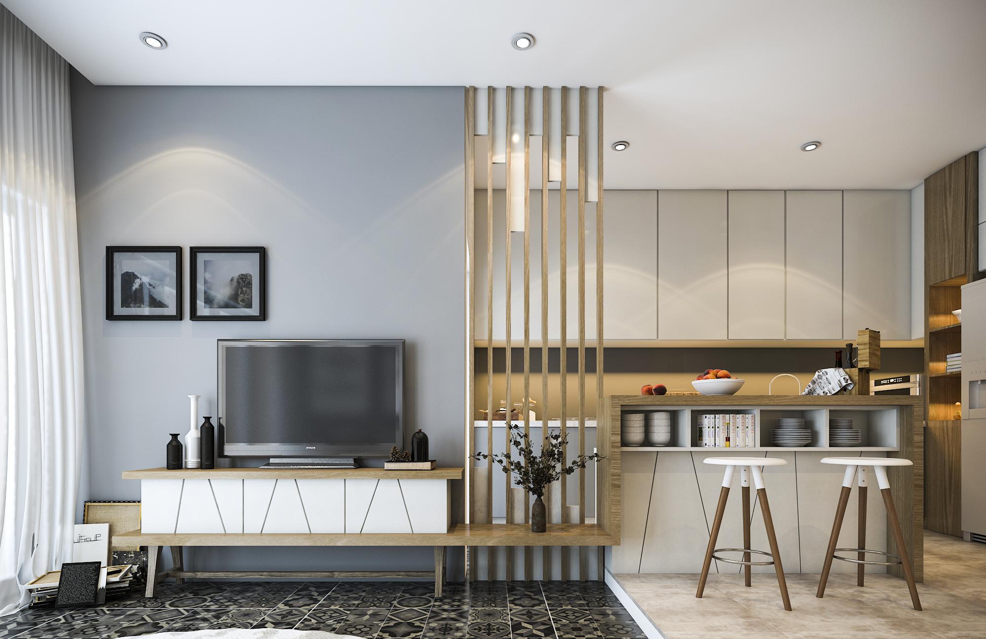 thiết kế nội thất chung cư tại Hồ Chí Minh Mr. Hiếu Apartment 0 1561701447