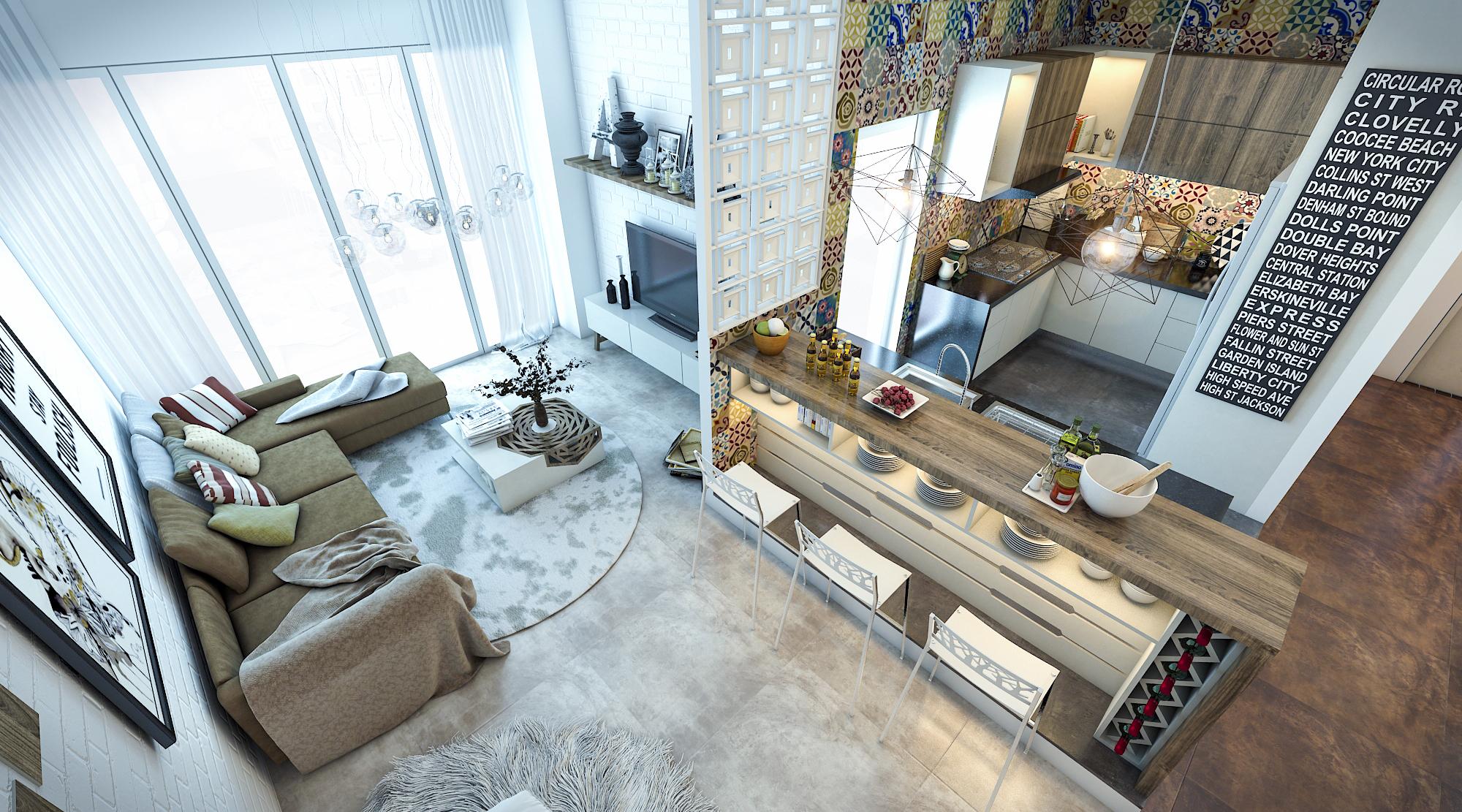 thiết kế nội thất chung cư tại Hồ Chí Minh Ms. Ly Apartment 10 1562574640