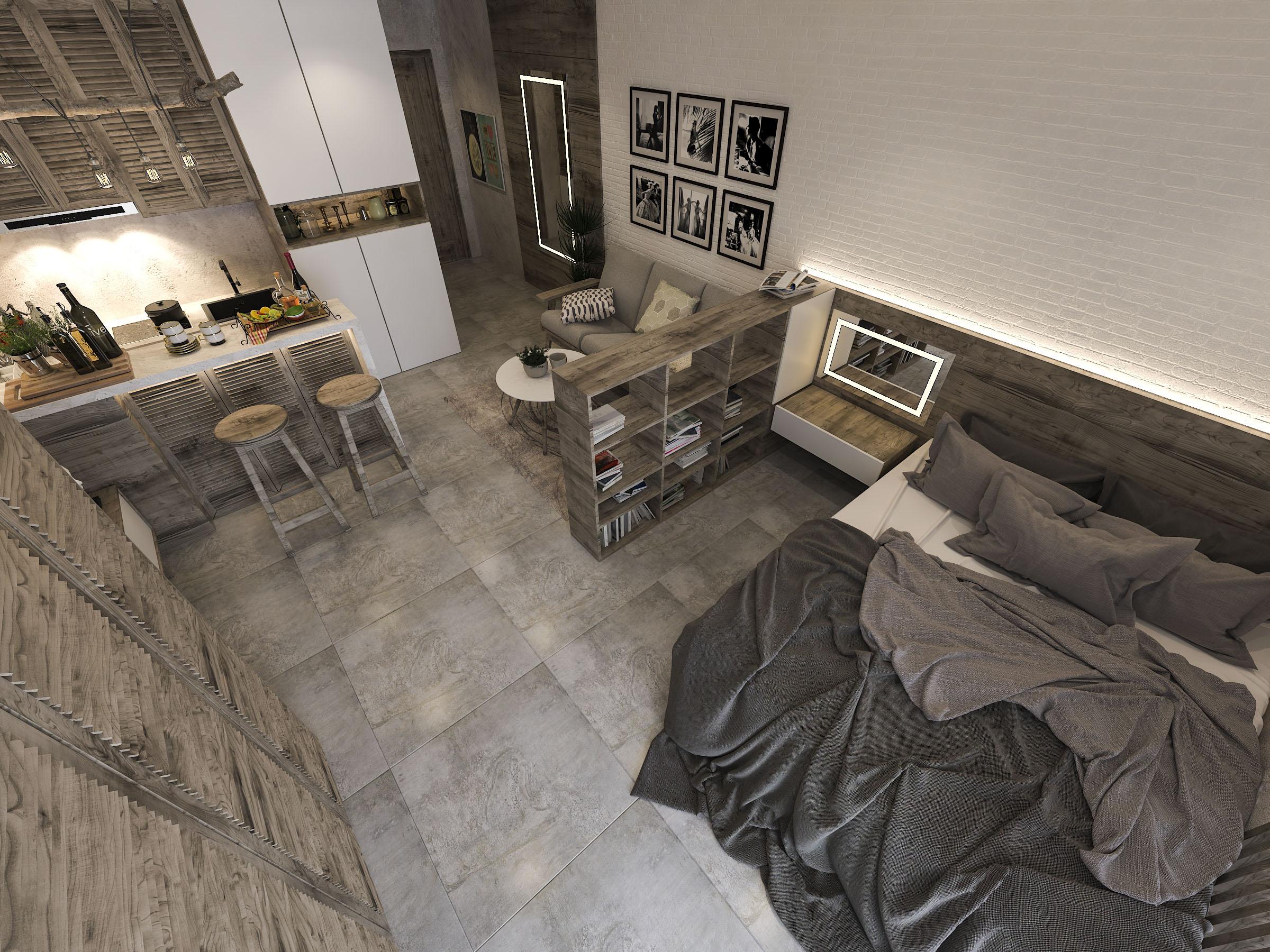 thiết kế nội thất chung cư tại Hồ Chí Minh Mr. Nam Apartment 11 1562984056