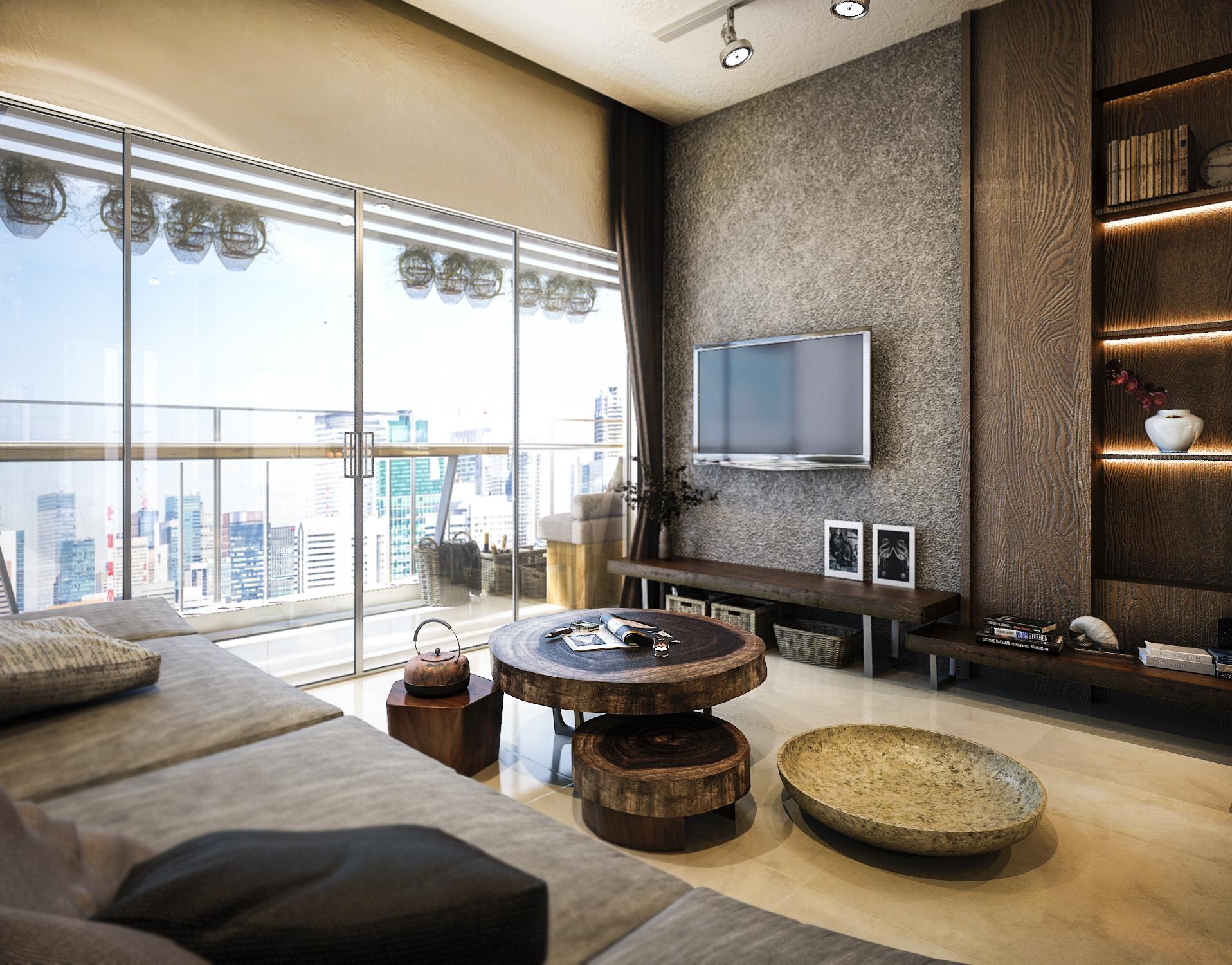 thiết kế nội thất chung cư tại Hồ Chí Minh Mr. Thuận Apartment 1 1544198870