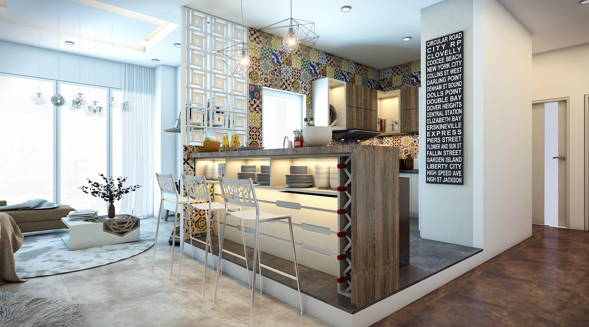 thiết kế nội thất chung cư tại Hồ Chí Minh Ms. Ly Apartment 1 1562574636