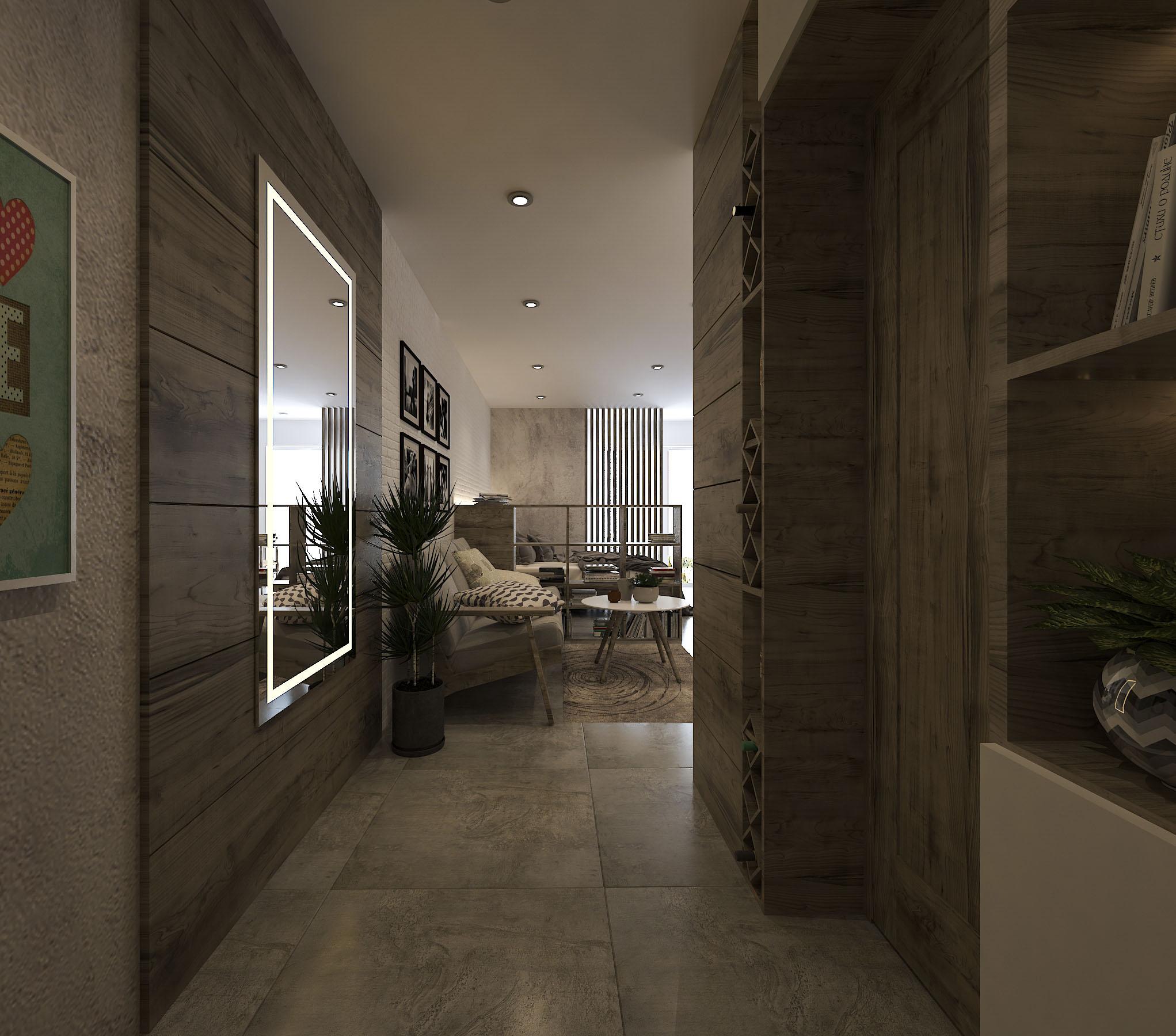 thiết kế nội thất chung cư tại Hồ Chí Minh Mr. Nam Apartment 1 1562984051