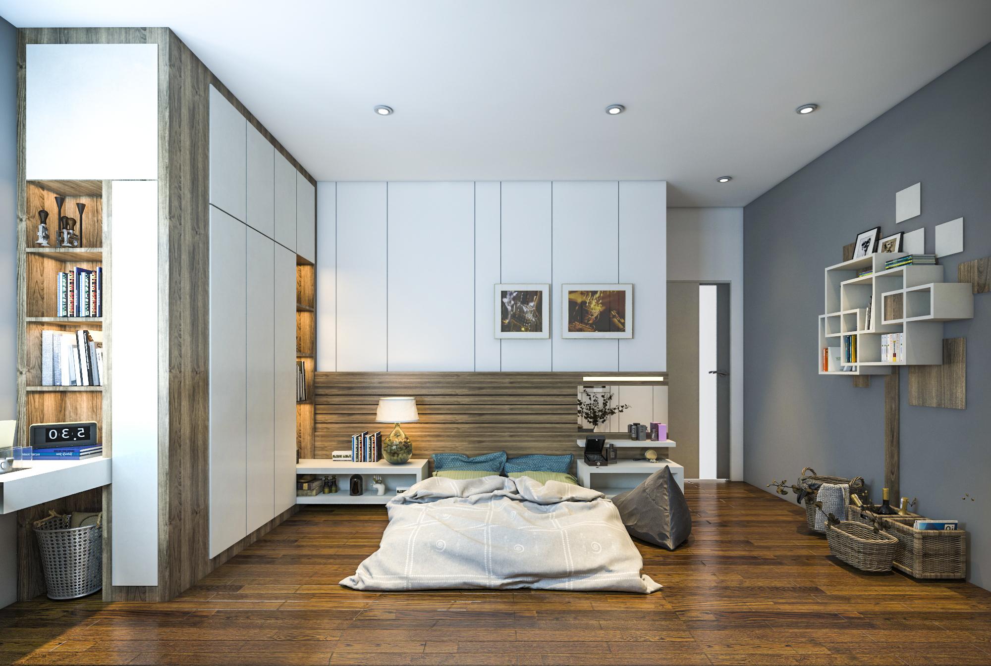 thiết kế nội thất chung cư tại Hồ Chí Minh Ms. Ly Apartment 12 1562574640