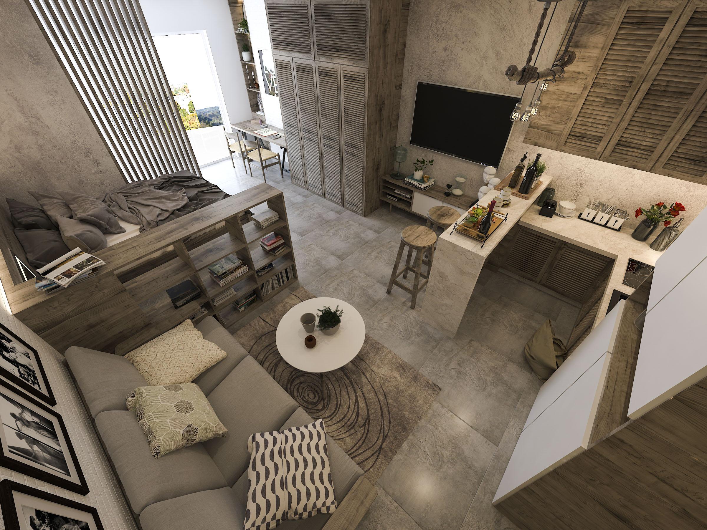 thiết kế nội thất chung cư tại Hồ Chí Minh Mr. Nam Apartment 12 1562984057
