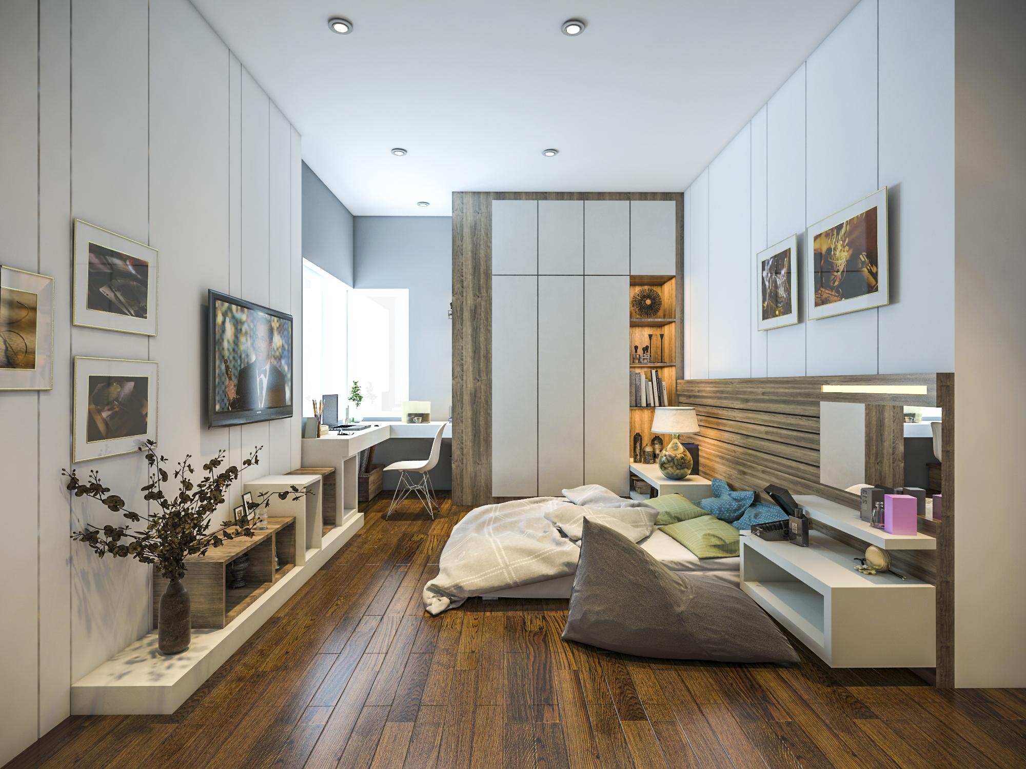 thiết kế nội thất chung cư tại Hồ Chí Minh Ms. Ly Apartment 13 1562574645