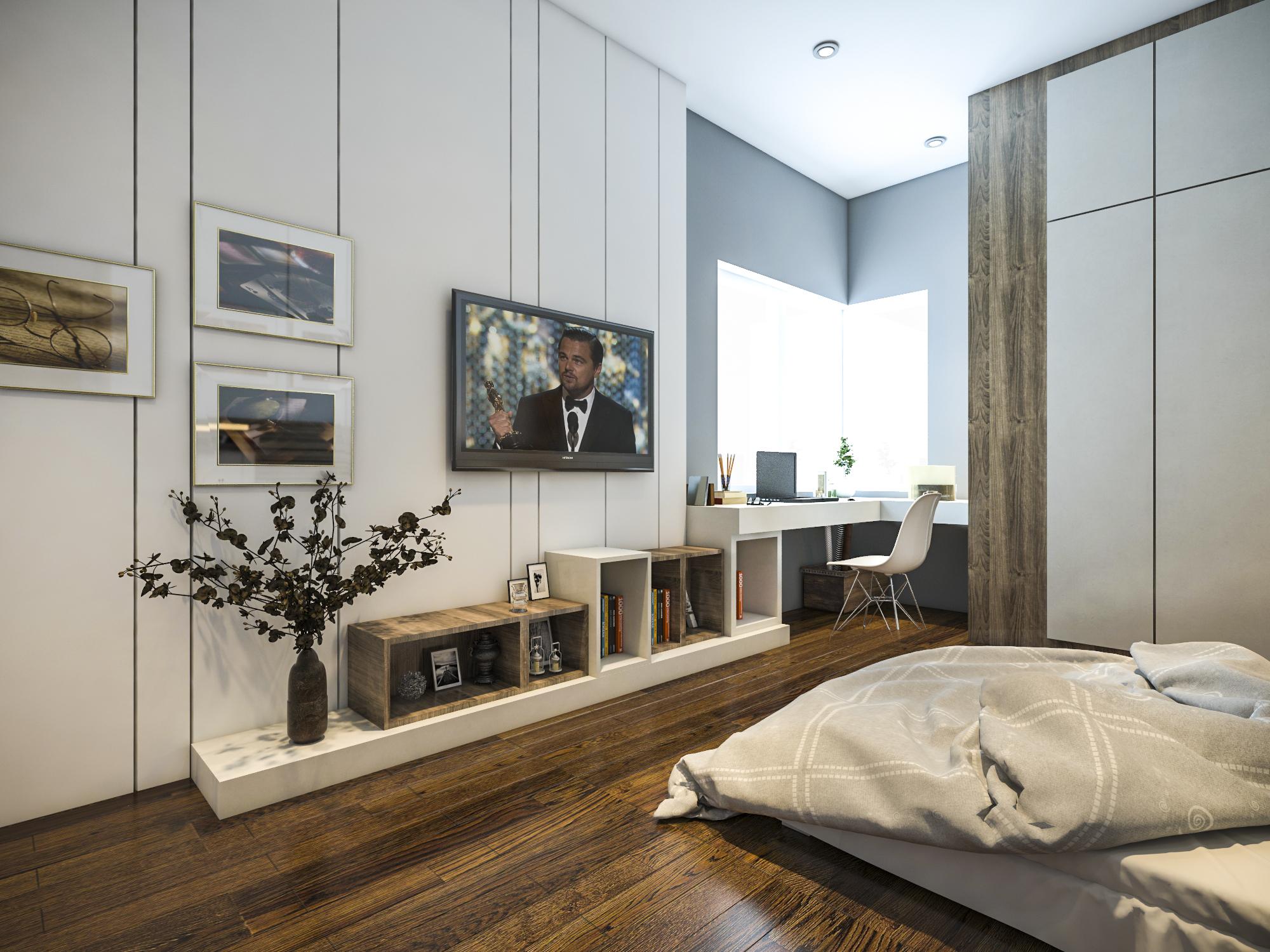 thiết kế nội thất chung cư tại Hồ Chí Minh Ms. Ly Apartment 14 1562574643