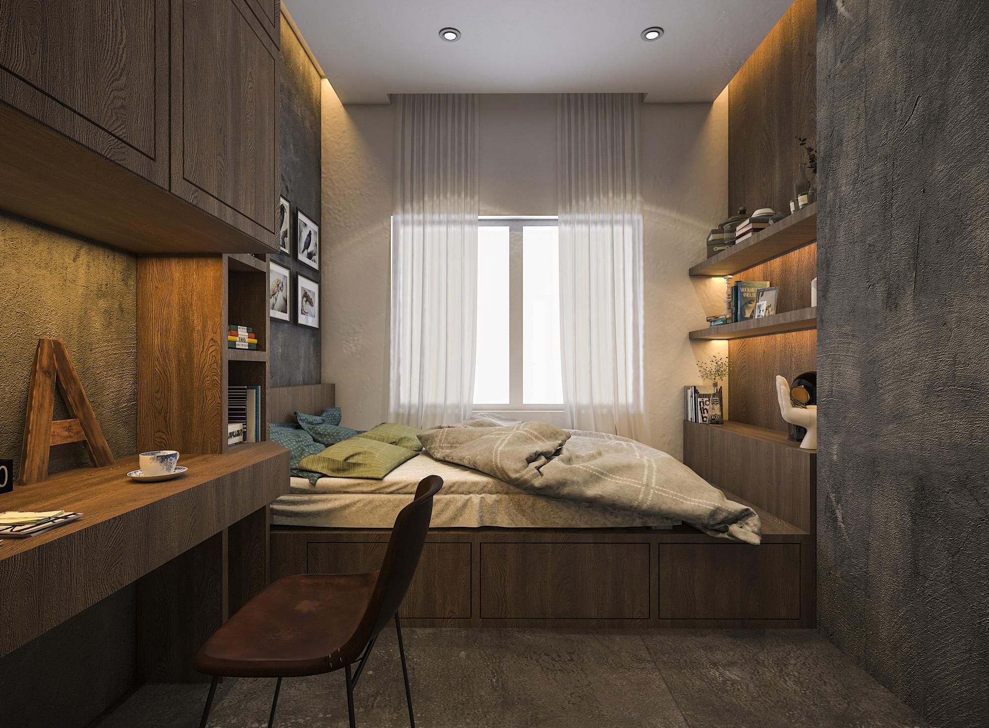 thiết kế nội thất chung cư tại Hồ Chí Minh Mr. Thuận Apartment 16 1544198879