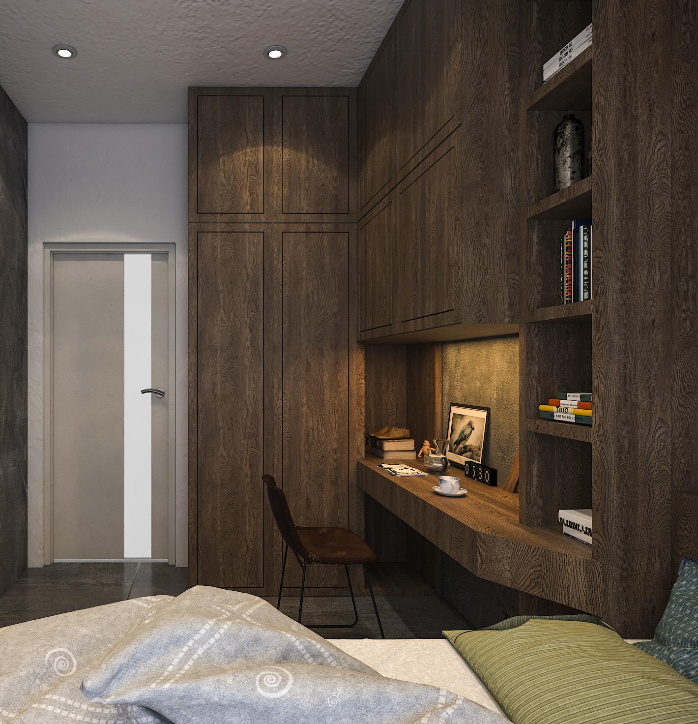 thiết kế nội thất chung cư tại Hồ Chí Minh Mr. Thuận Apartment 17 1544198878