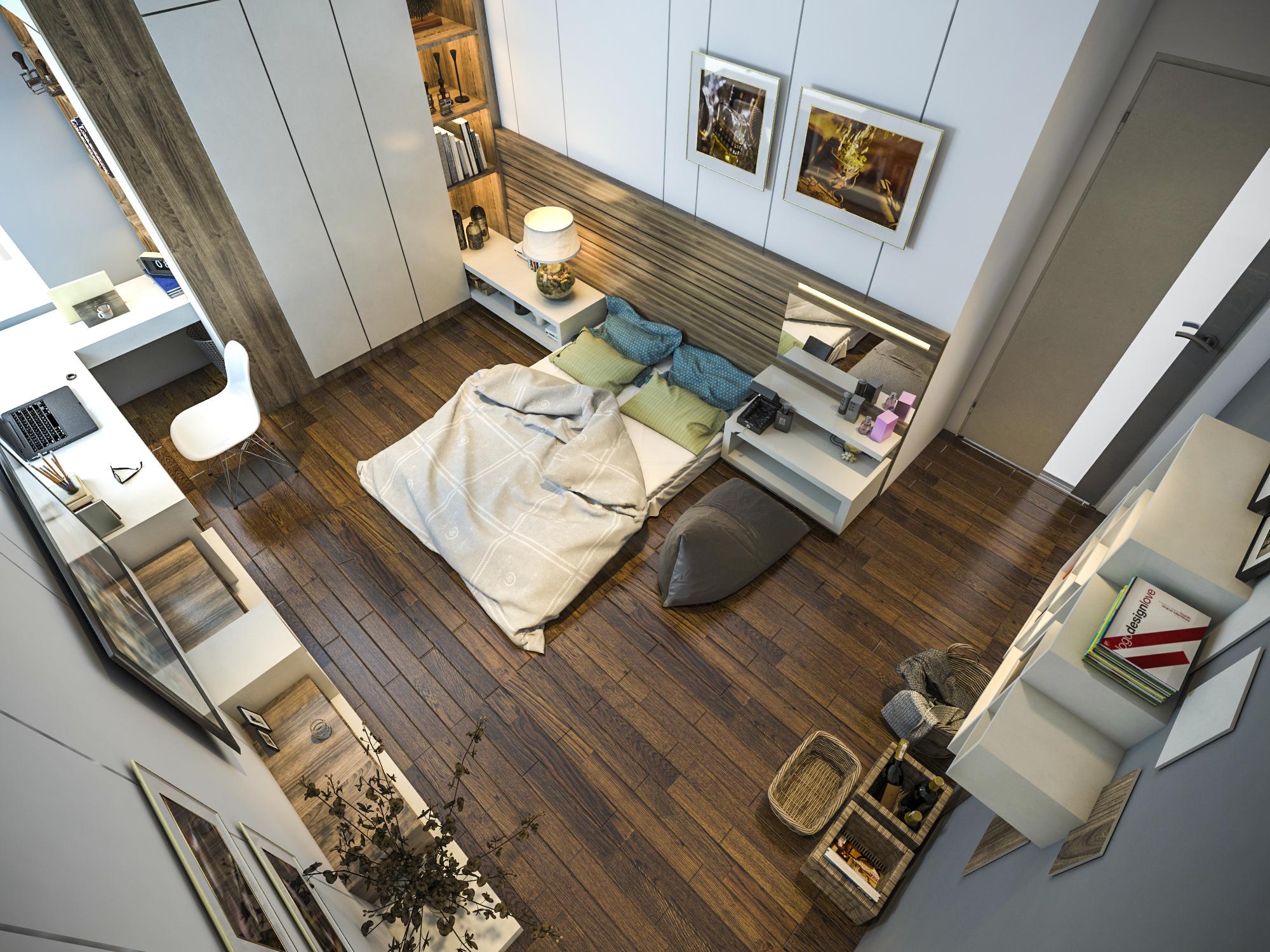 thiết kế nội thất chung cư tại Hồ Chí Minh Ms. Ly Apartment 17 1562574645
