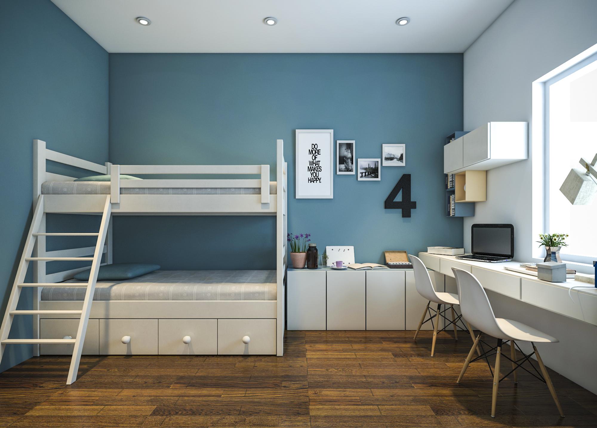 thiết kế nội thất chung cư tại Hồ Chí Minh Ms. Ly Apartment 18 1562574644