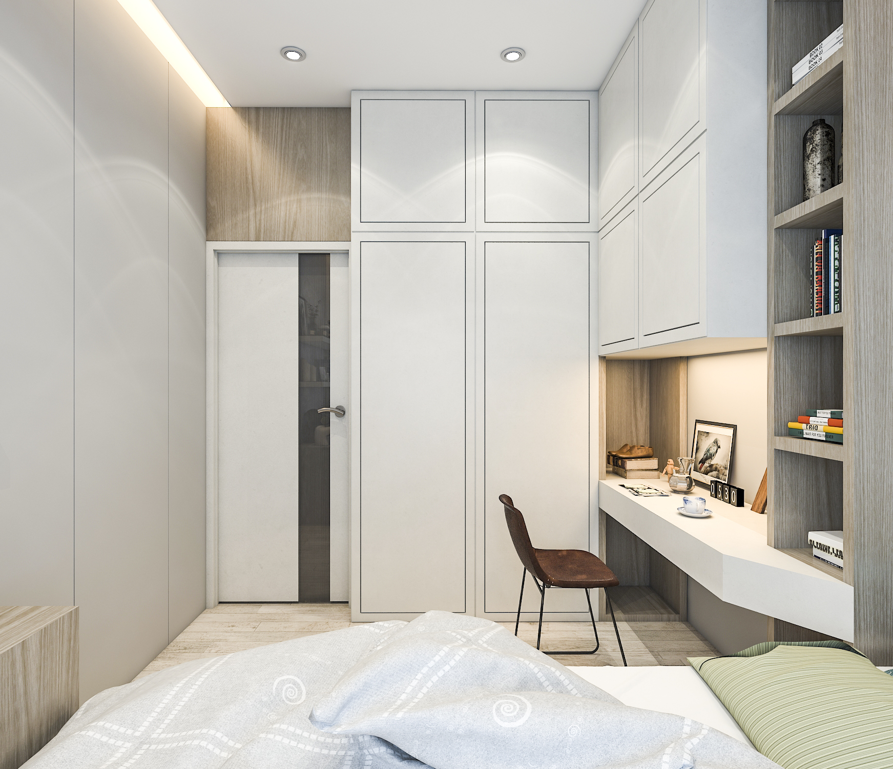 thiết kế nội thất chung cư tại Hồ Chí Minh Mr. Hiếu Apartment 19 1561701457