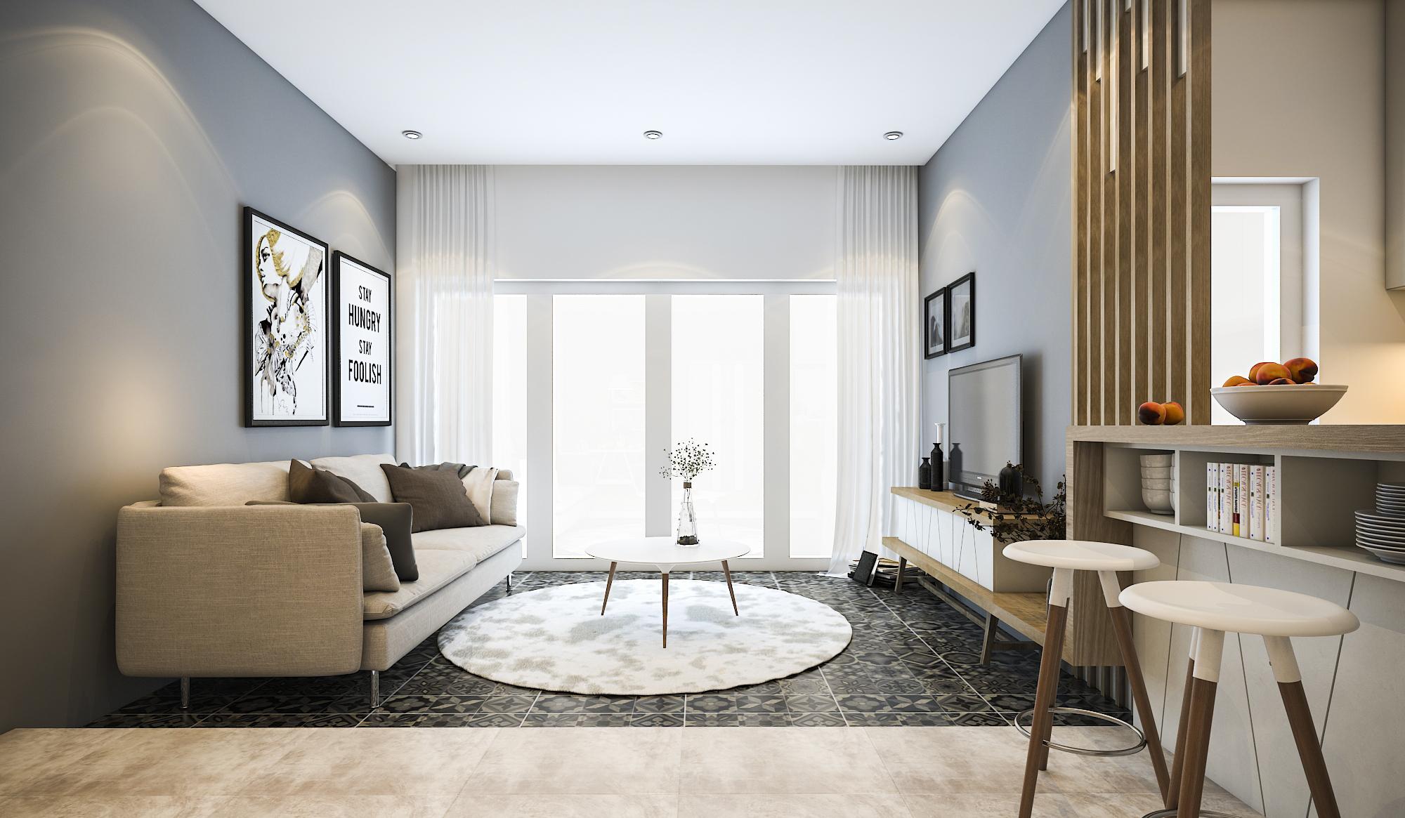 thiết kế nội thất chung cư tại Hồ Chí Minh Mr. Hiếu Apartment 2 1561701448