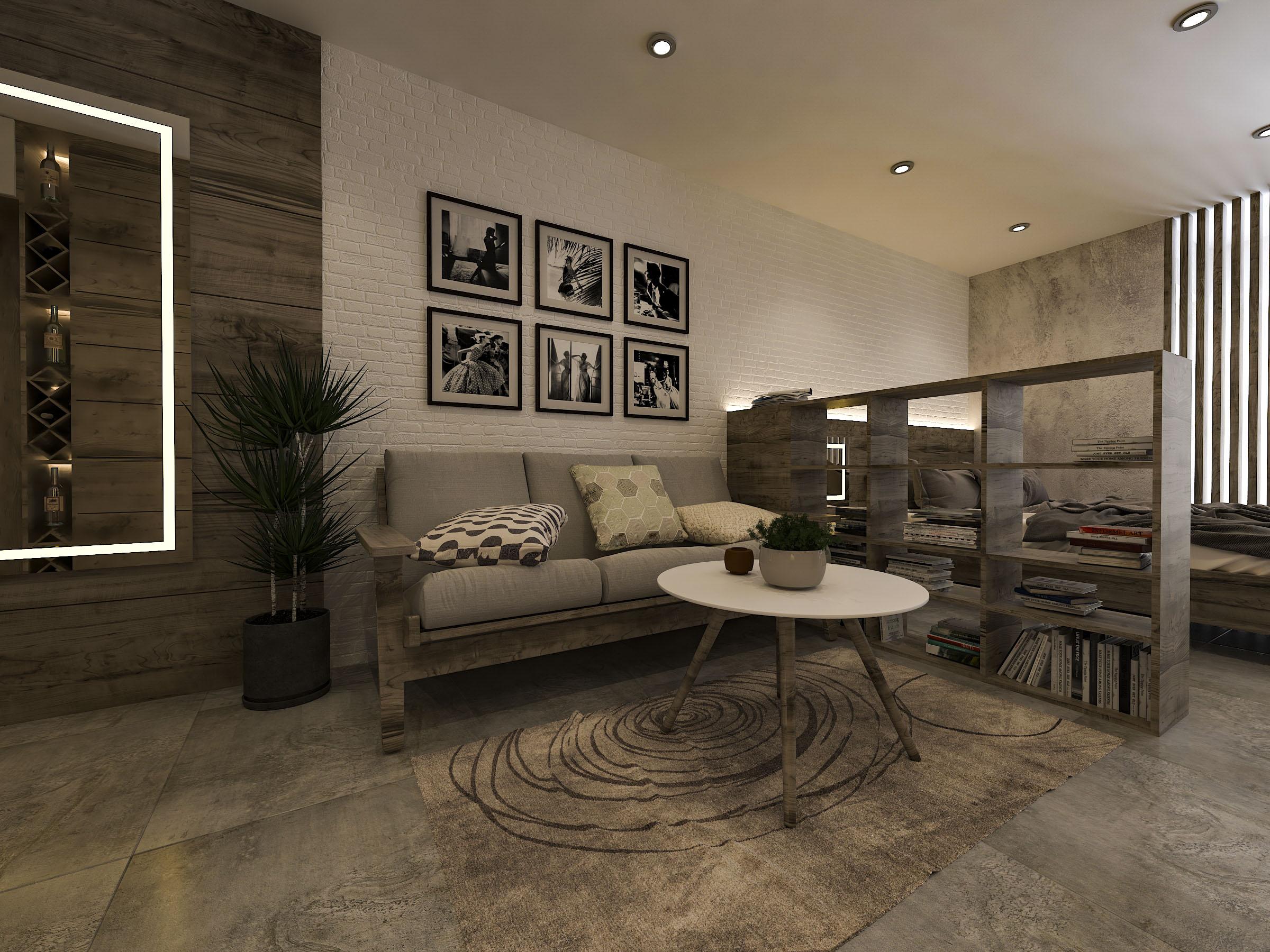 thiết kế nội thất chung cư tại Hồ Chí Minh Mr. Nam Apartment 2 1562984052