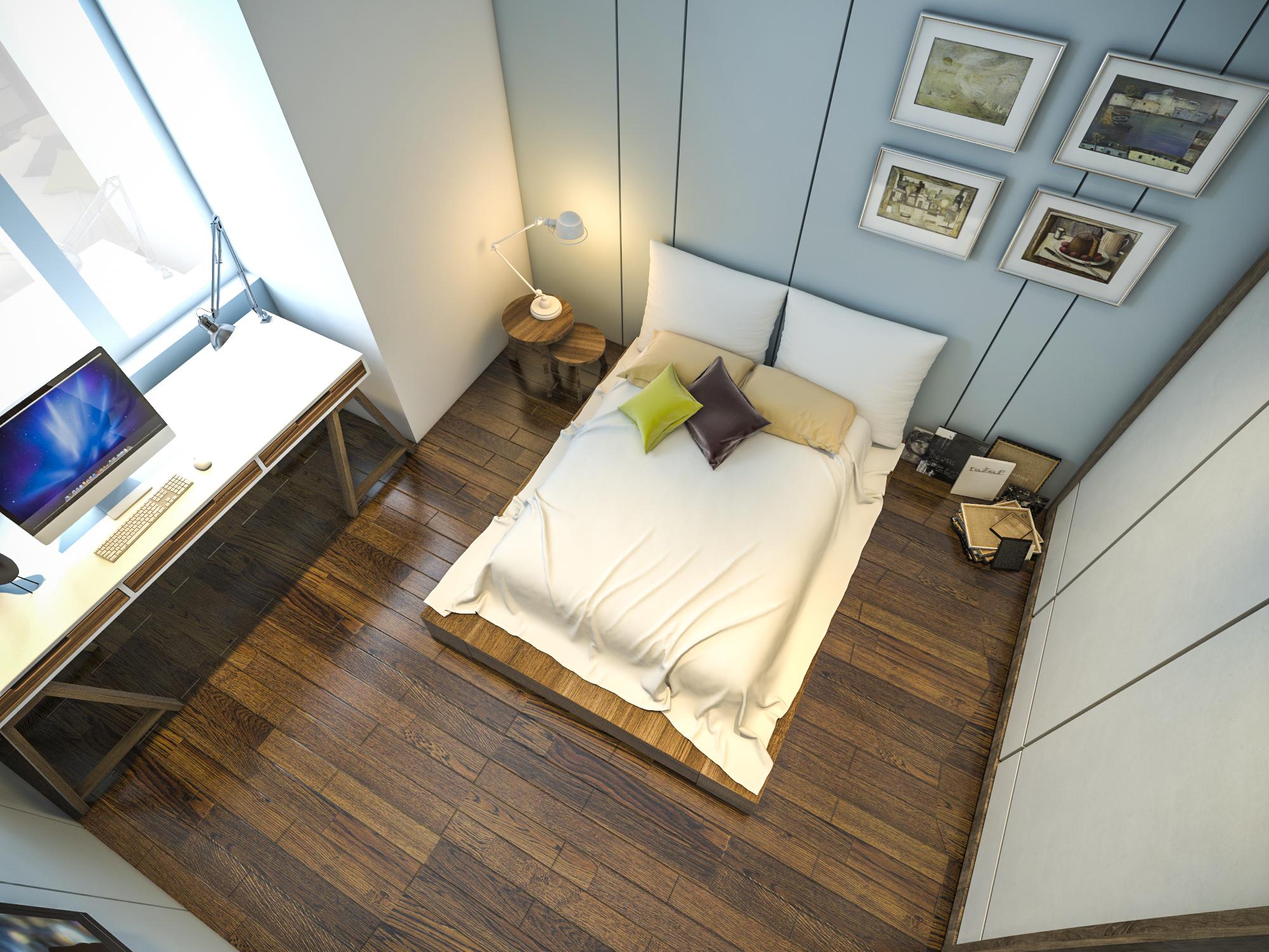 thiết kế nội thất chung cư tại Hồ Chí Minh Ms. Ly Apartment 23 1562574648