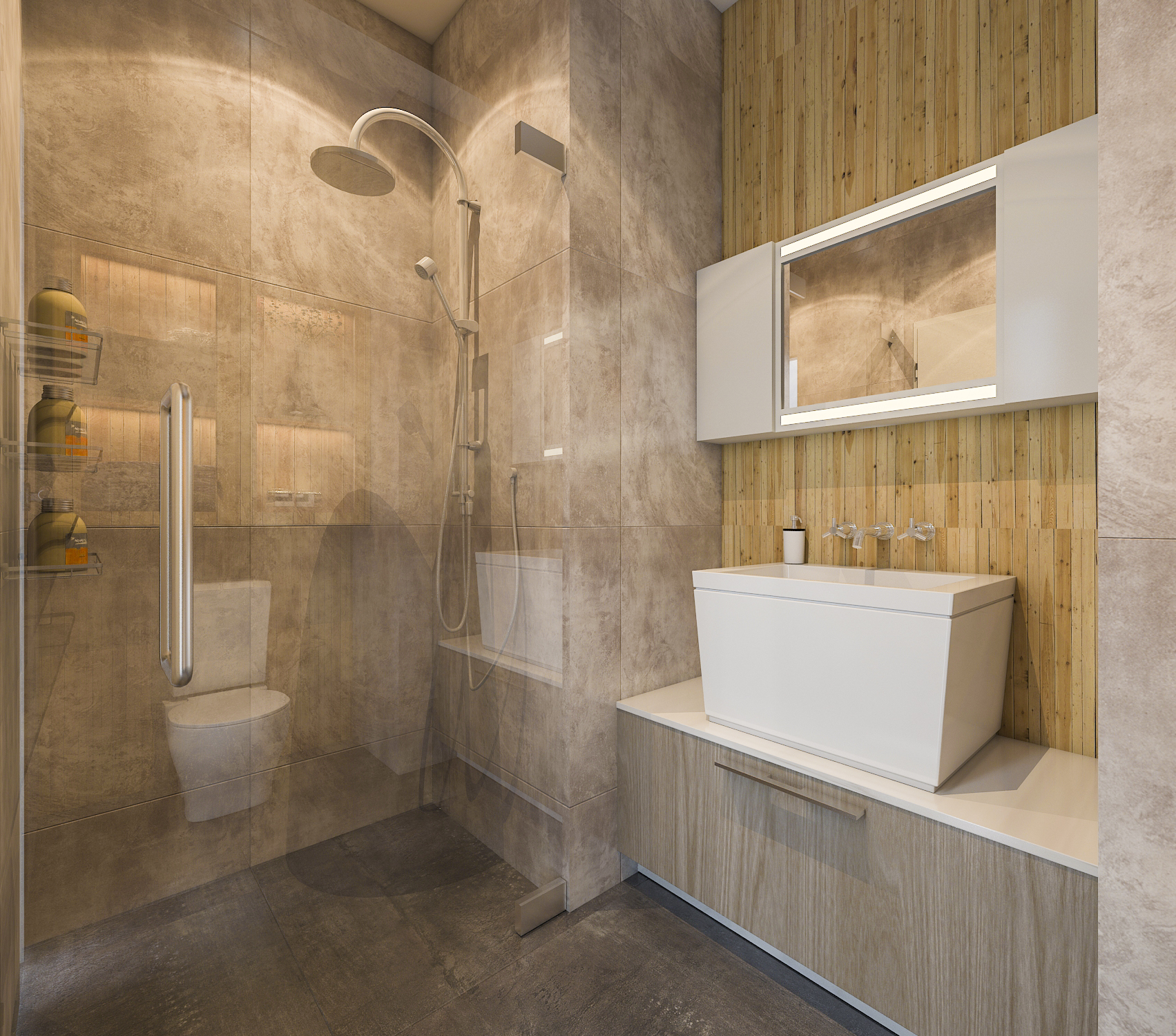 thiết kế nội thất chung cư tại Hồ Chí Minh Mr. Hiếu Apartment 27 1561701458