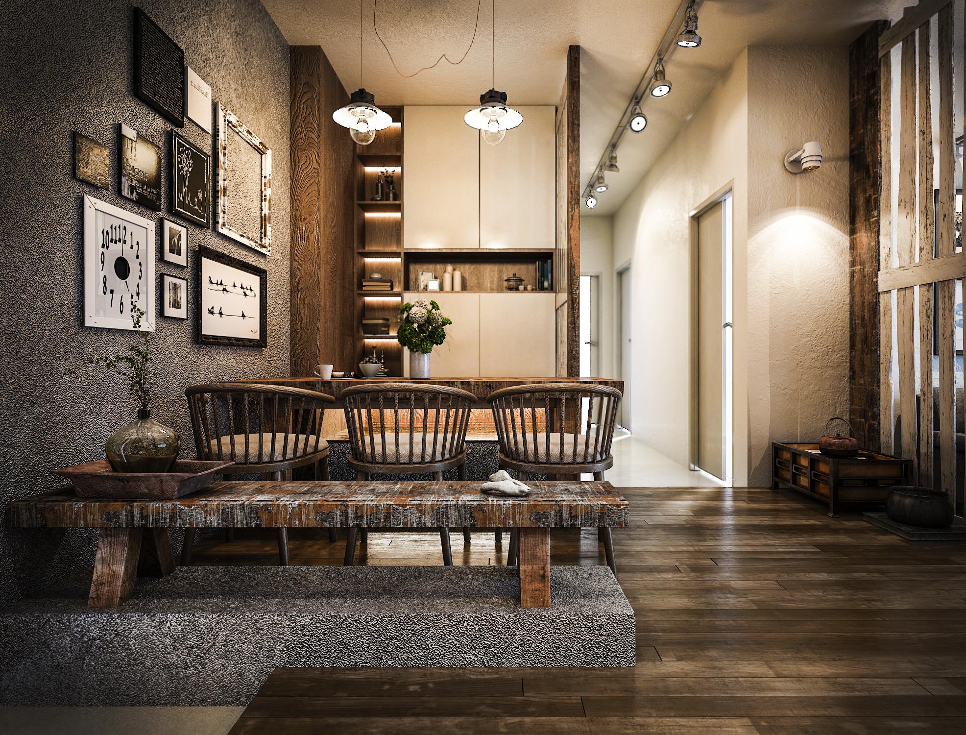 thiết kế nội thất chung cư tại Hồ Chí Minh Mr. Thuận Apartment 4 1544198872