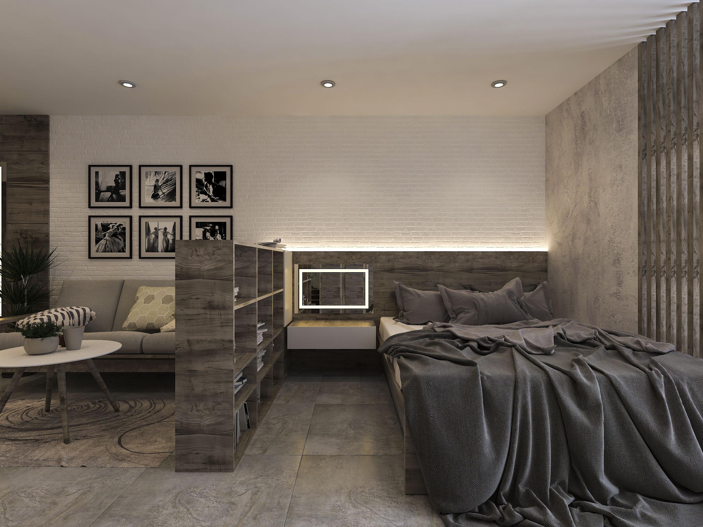 thiết kế nội thất chung cư tại Hồ Chí Minh Mr. Nam Apartment 4 1562984053