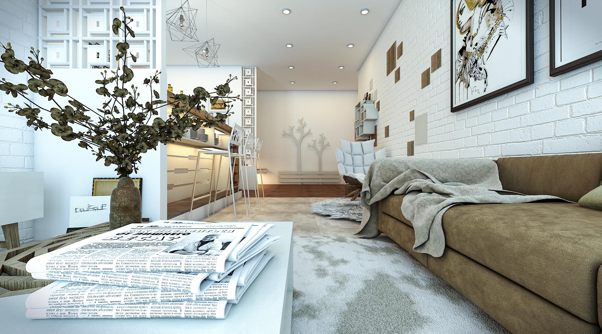 thiết kế nội thất chung cư tại Hồ Chí Minh Ms. Ly Apartment 7 1562574640