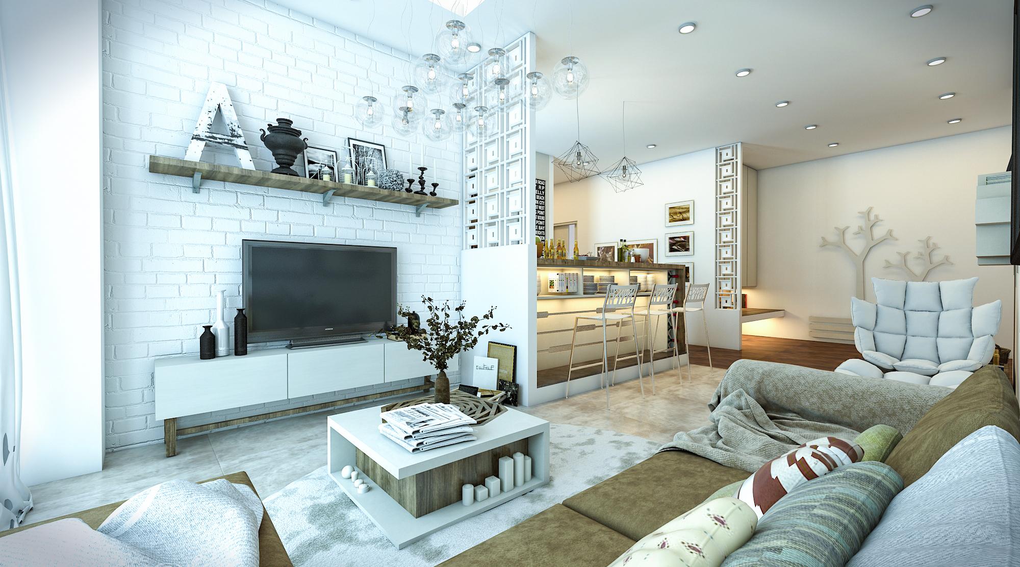 thiết kế nội thất chung cư tại Hồ Chí Minh Ms. Ly Apartment 8 1562574639