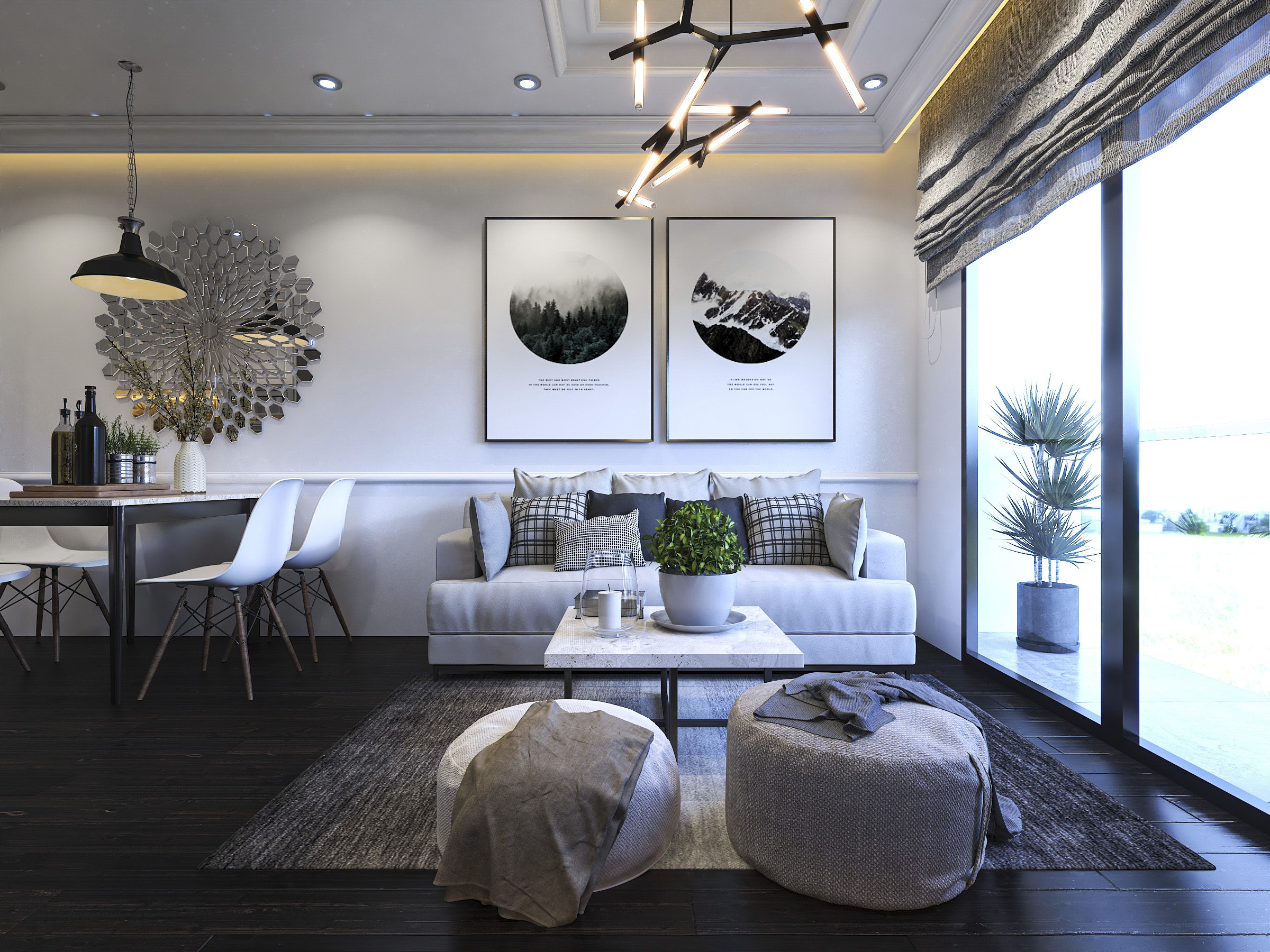 Thiết kế nội thất Chung Cư tại Hồ Chí Minh Ms Liên's Apartment 1592323878 2
